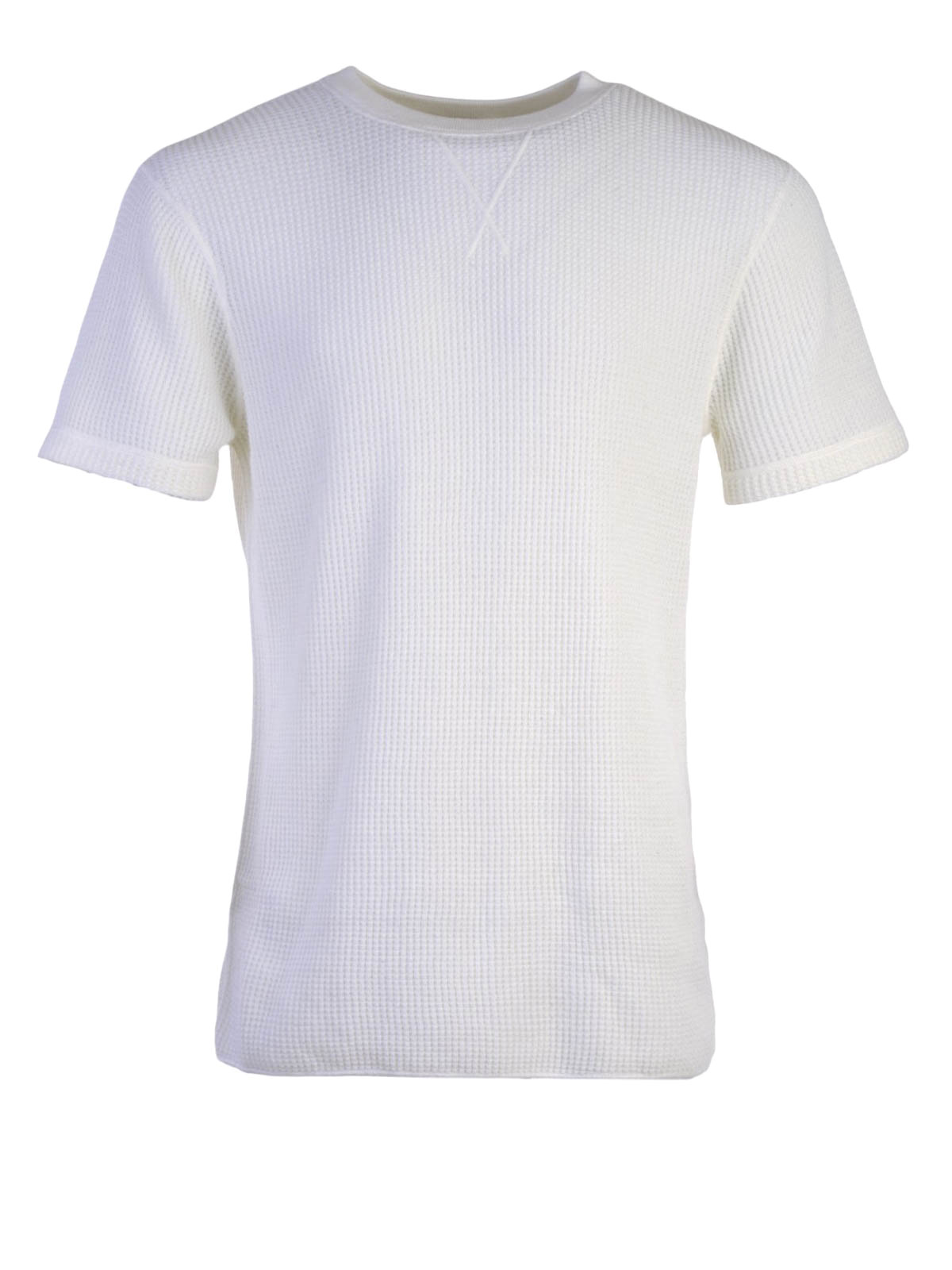 Waffle Knitted Cotton T Shirt By Alexander Wang T Shirts