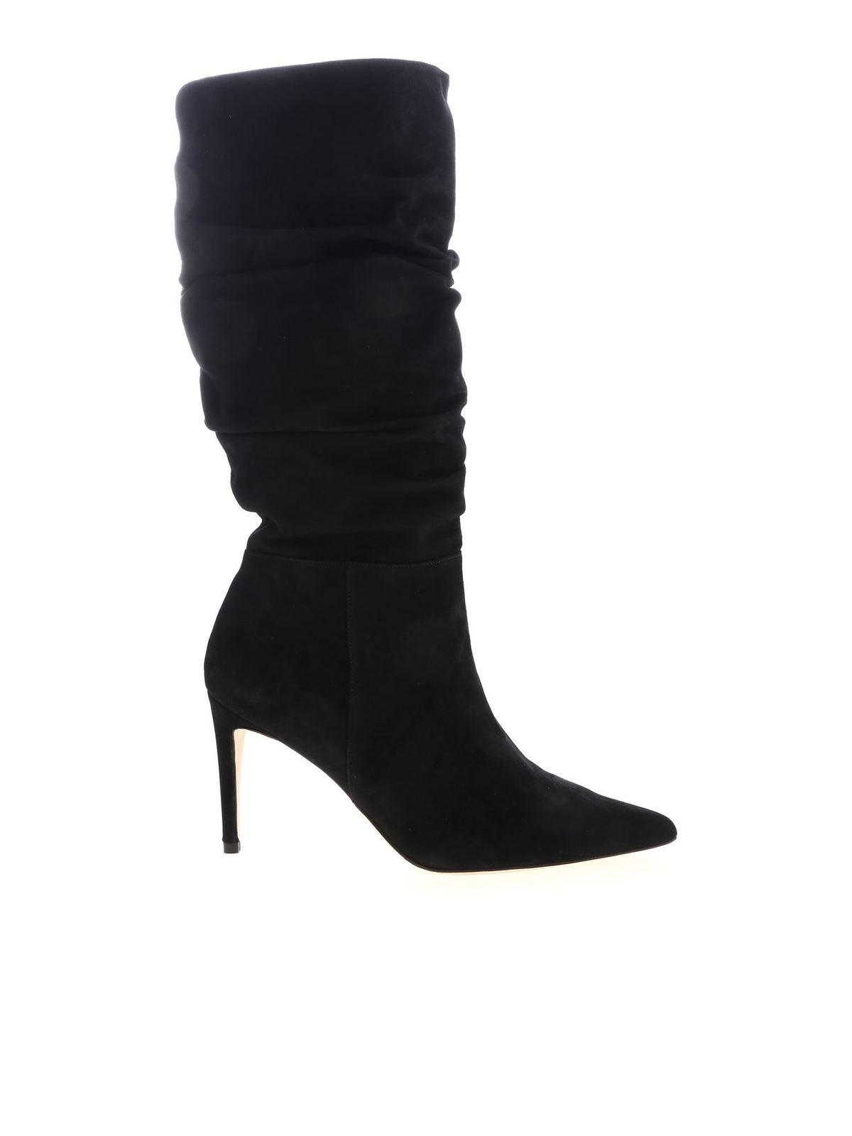 Alexandre Birman LUCY POINTED BOOT IN BLACK