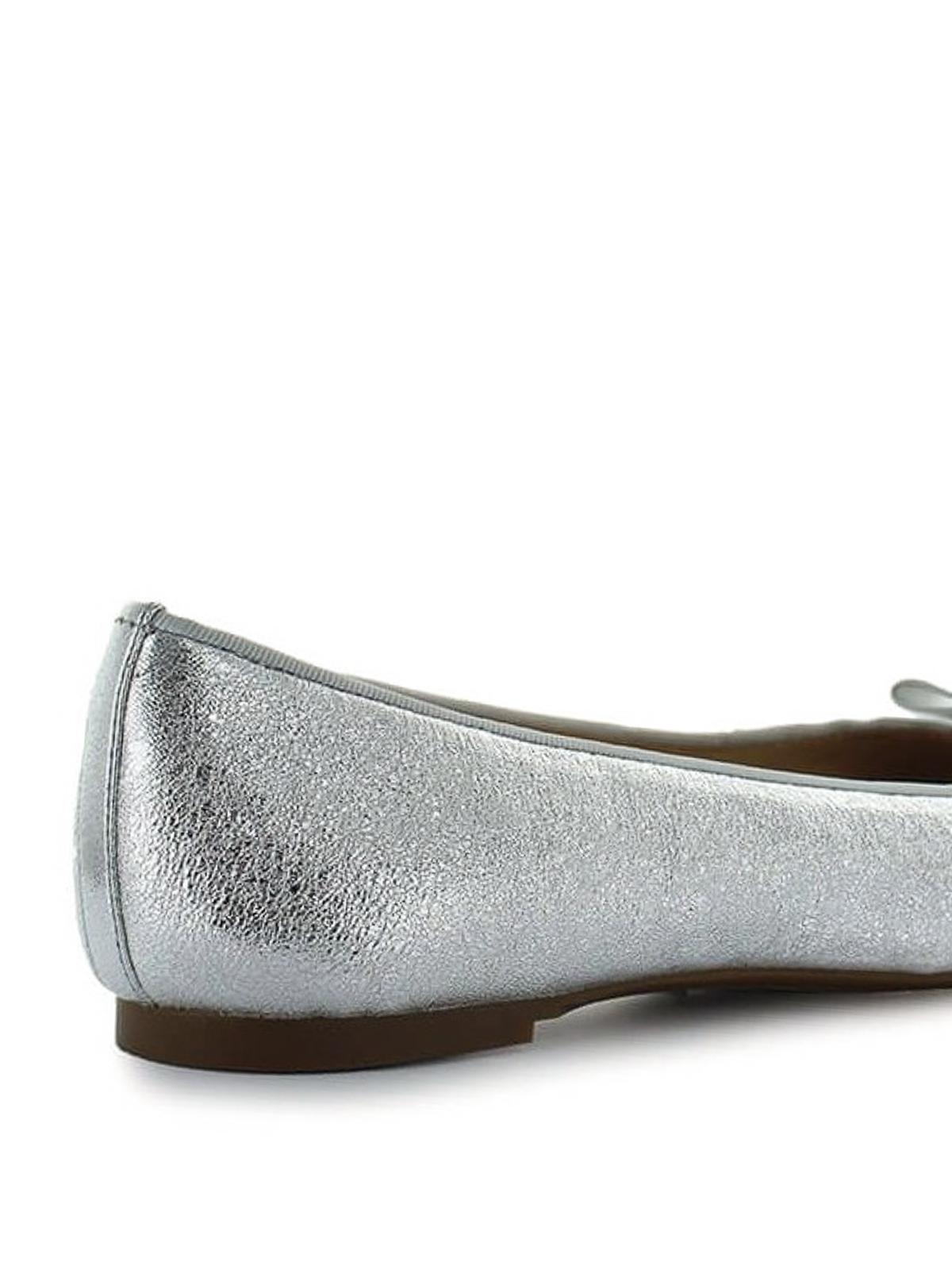 f41a183c90f9 Michael Kors - Alice silver napa ballerinas - flat shoes - 40S8ALFP1M040