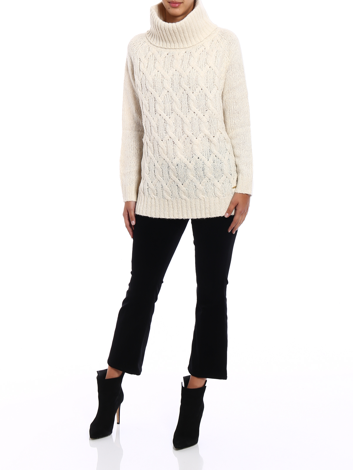 45c876aba13 Woolrich - Alpaca blend twist knit turtleneck - Turtlenecks   Polo ...