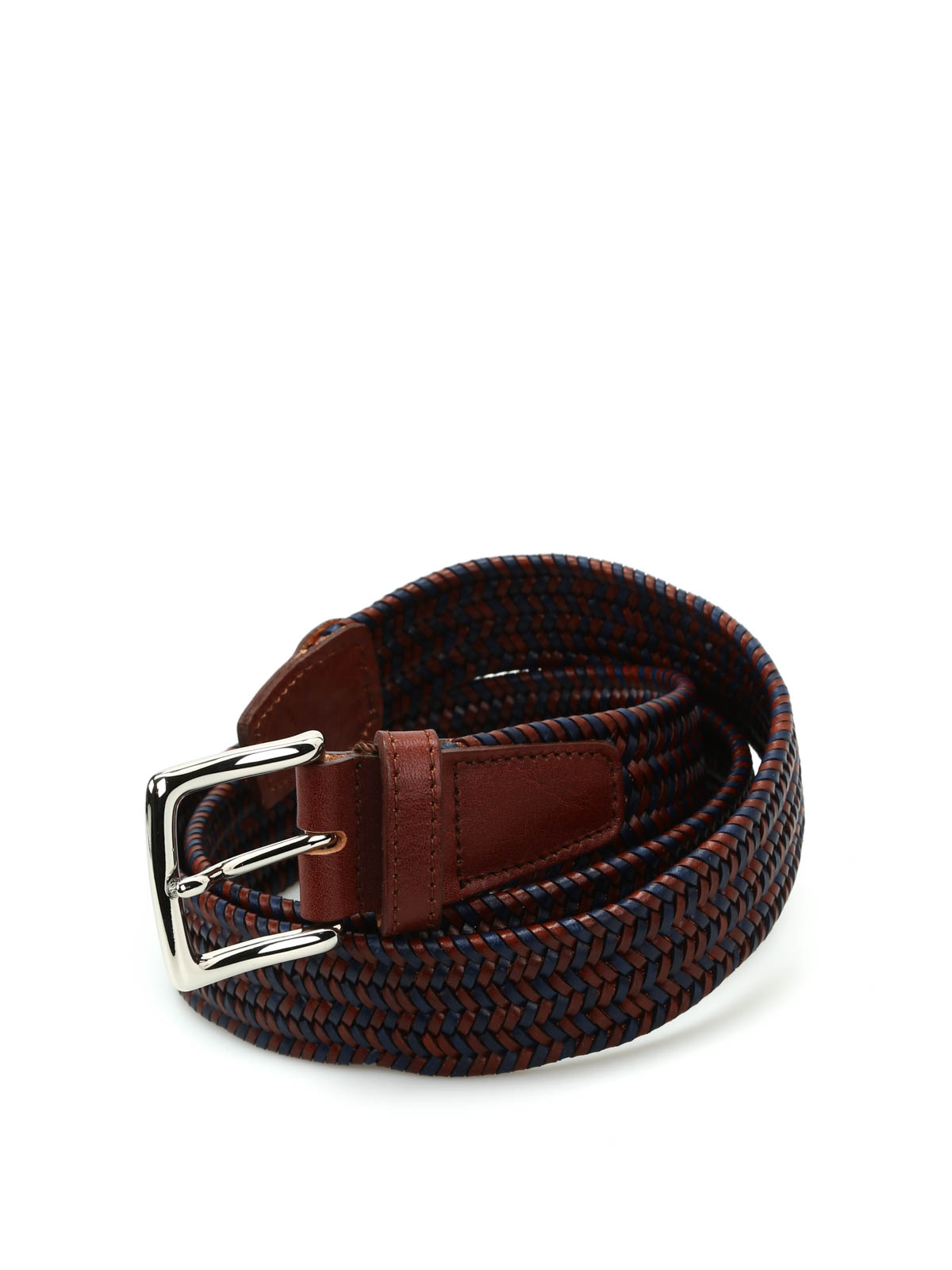 woven leather belt by andrea d amico belts ikrix
