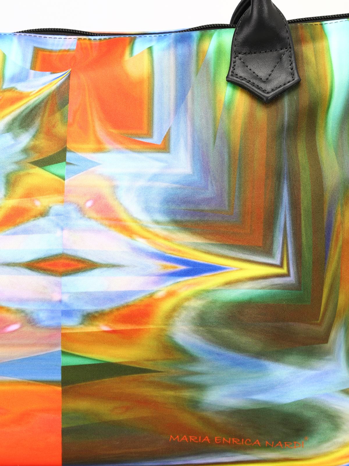 Nouveau Maria Enrica Nardi Andromeda Fourre-tout Satin Imperméable À L'eau Livraison Gratuite Prix Le Moins Cher Jeu Extrêmement Style De Mode Pas Cher 2nHoVy7