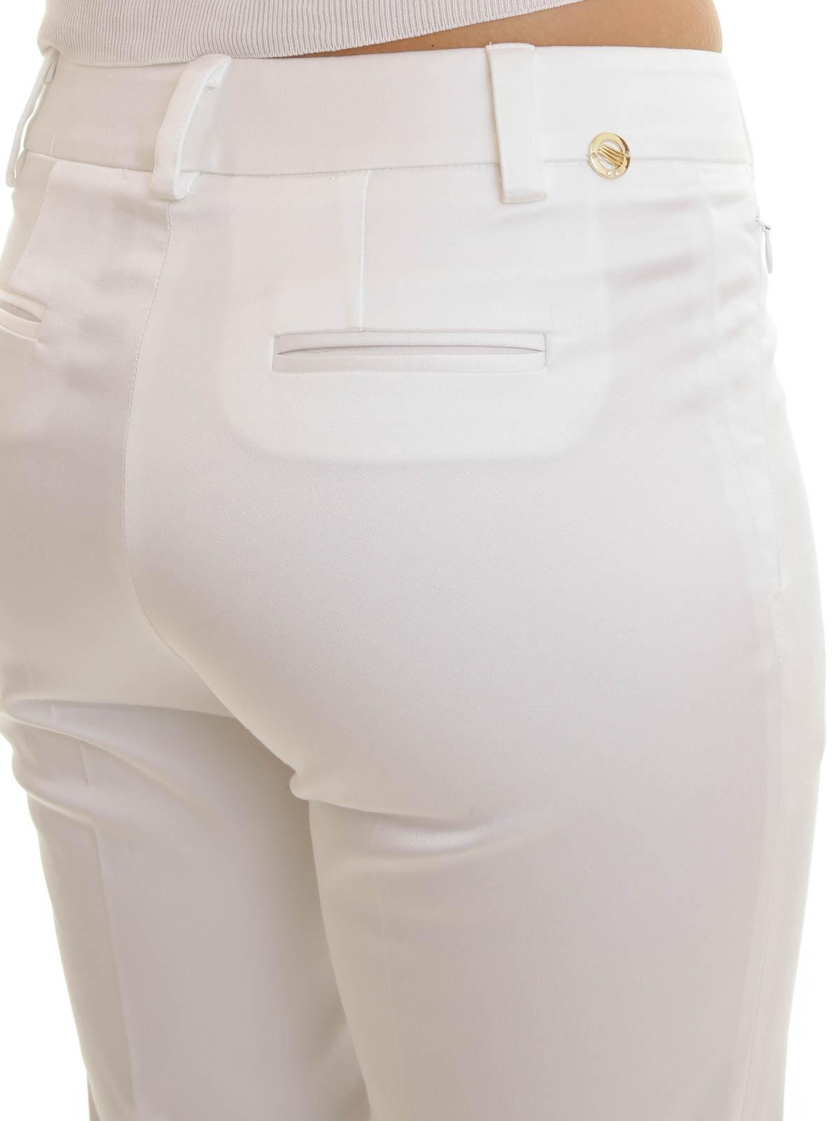 Angelo Marani buy online Pantalón De Traje Blanco Para Mujer. Angelo Marani   Pantalones casual ... 2ab6e8253faf