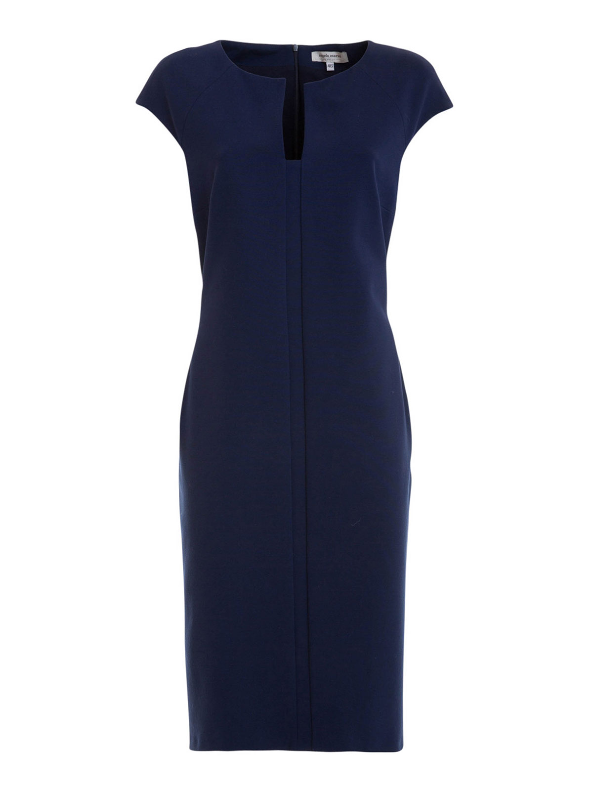 cap sleeve shift dress by angelo marani knee length