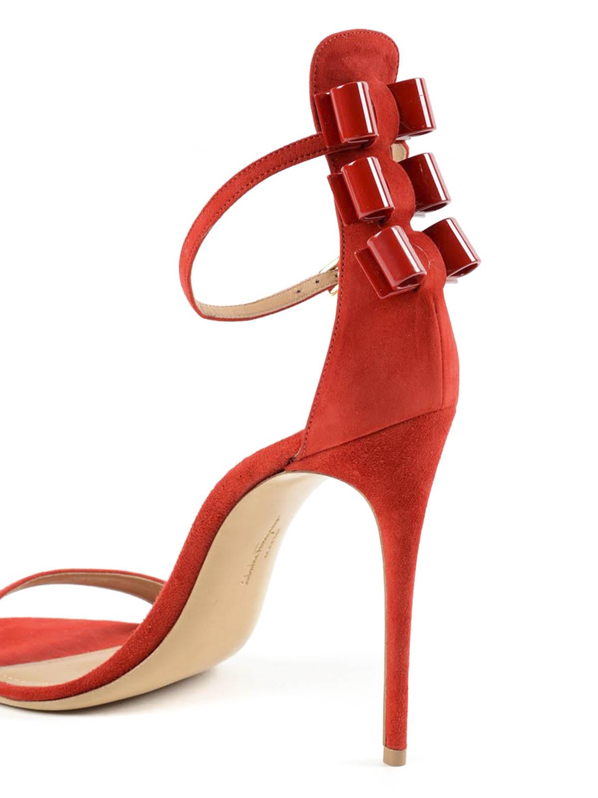 490b94207 Salvatore Ferragamo - Angie suede sandals - sandals - 01L011 ...