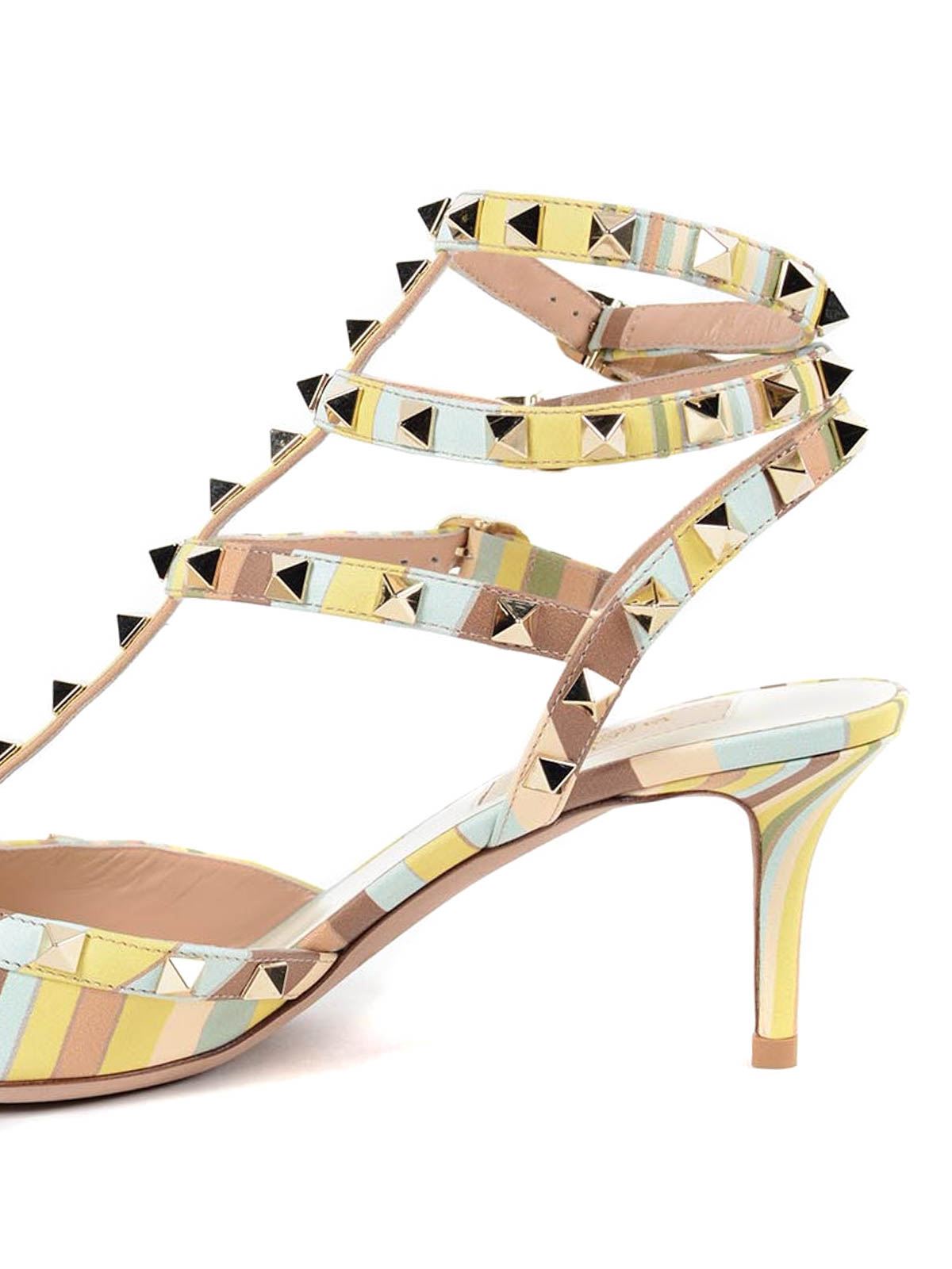 Rockstud Strap Couture Garavani Scarpe Ankle Native Valentino zTEXnq