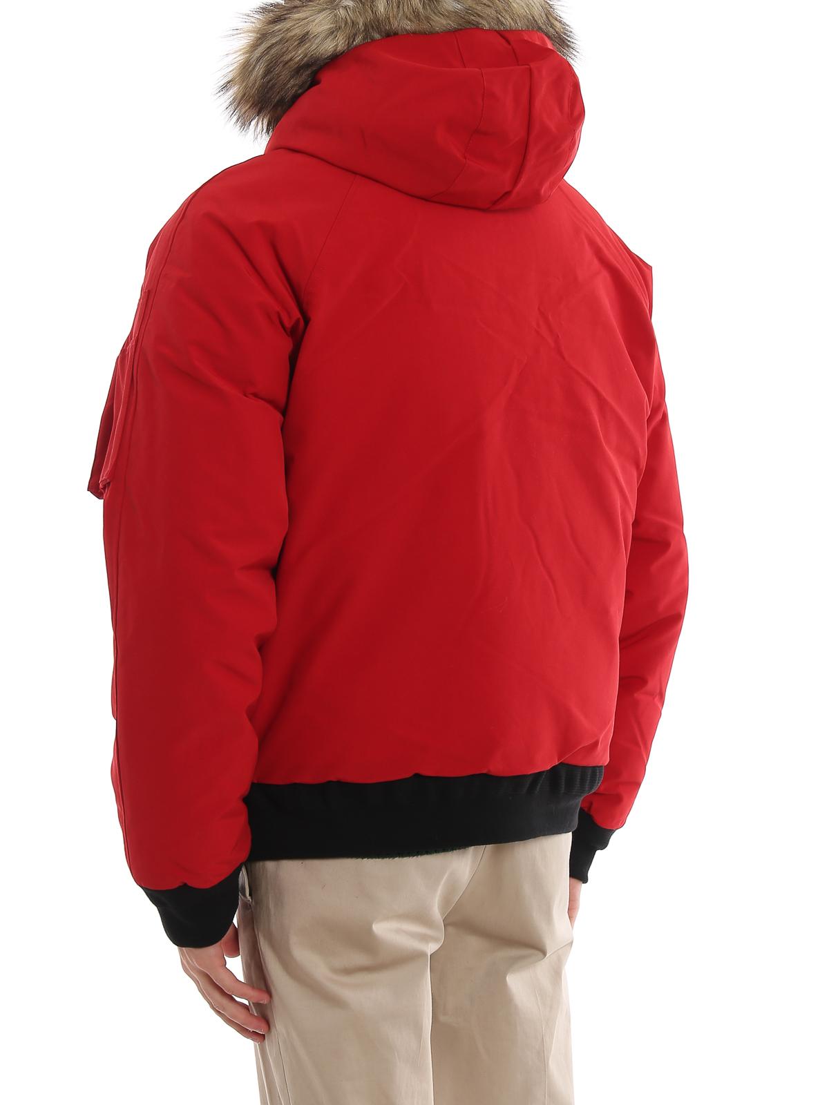 Polo Ralph Lauren Daunenjacke Rot Kurze Daunenjacken