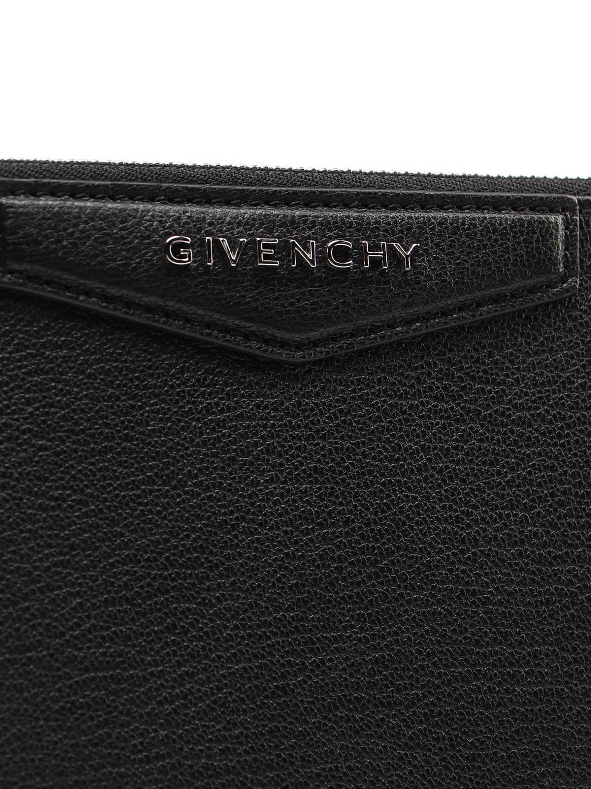 Givenchy Clutch Antigona in pelle fiore pochette
