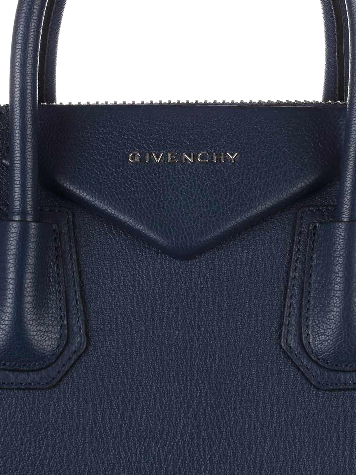 c5029139b035 Givenchy - Antigona medium blue leather bag - bowling bags ...