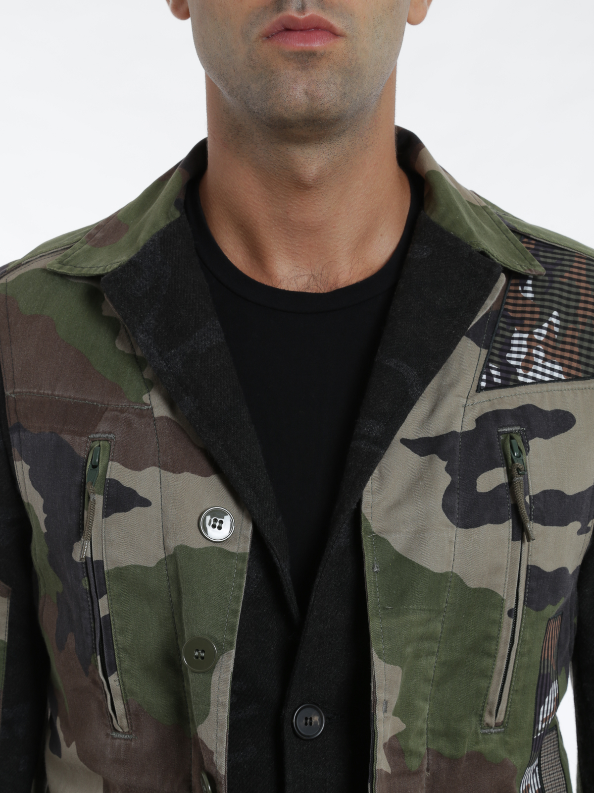 watch 068b2 b0549 Antonio Marras - Sahariana camouflage - giacche casual ...