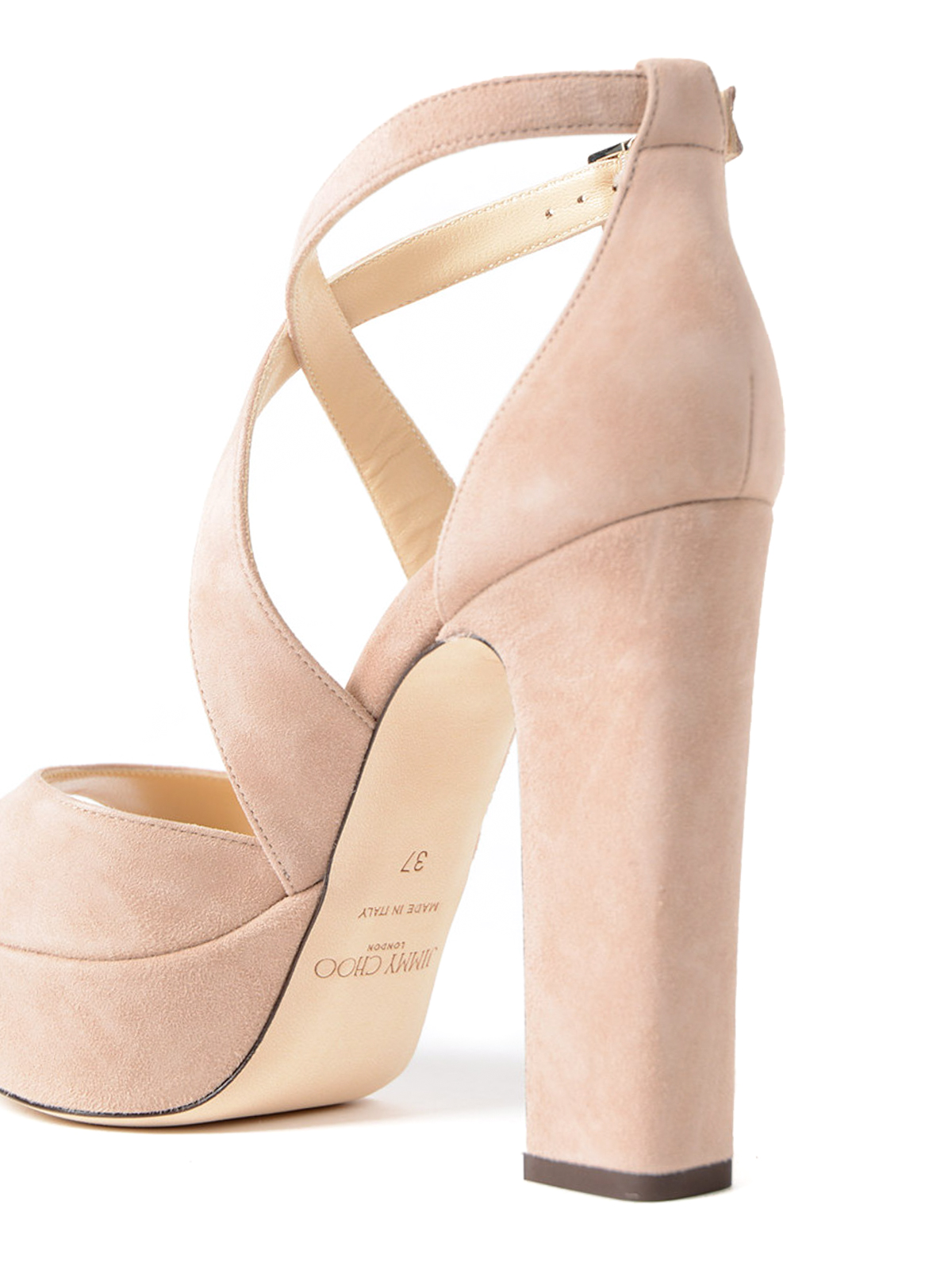 d4db4c386802 Jimmy Choo - April 120 suede platform sandals - sandals ...