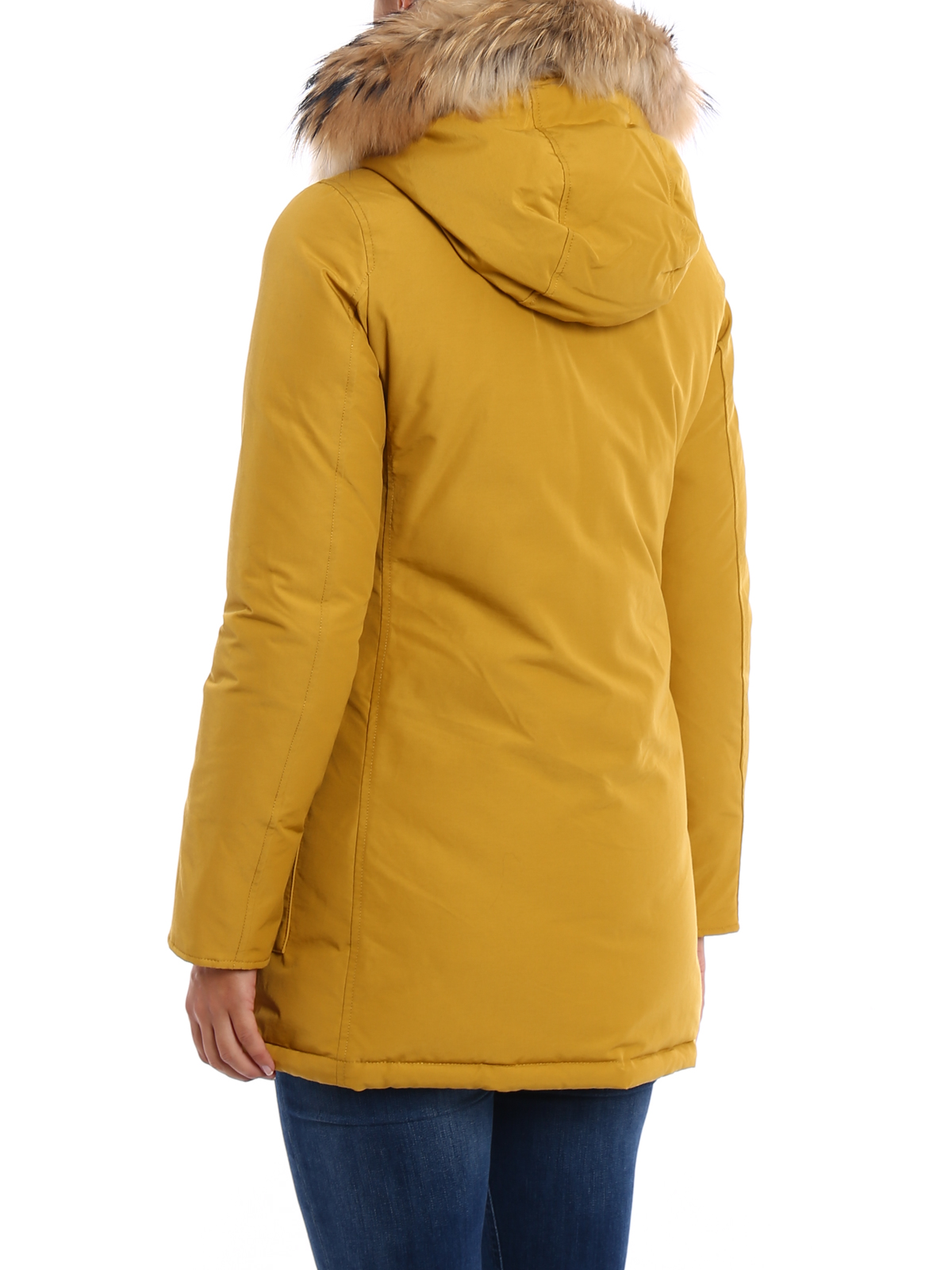 promo code b137a 54105 Woolrich - Arctic Parka fur trim padded coat - padded coats ...