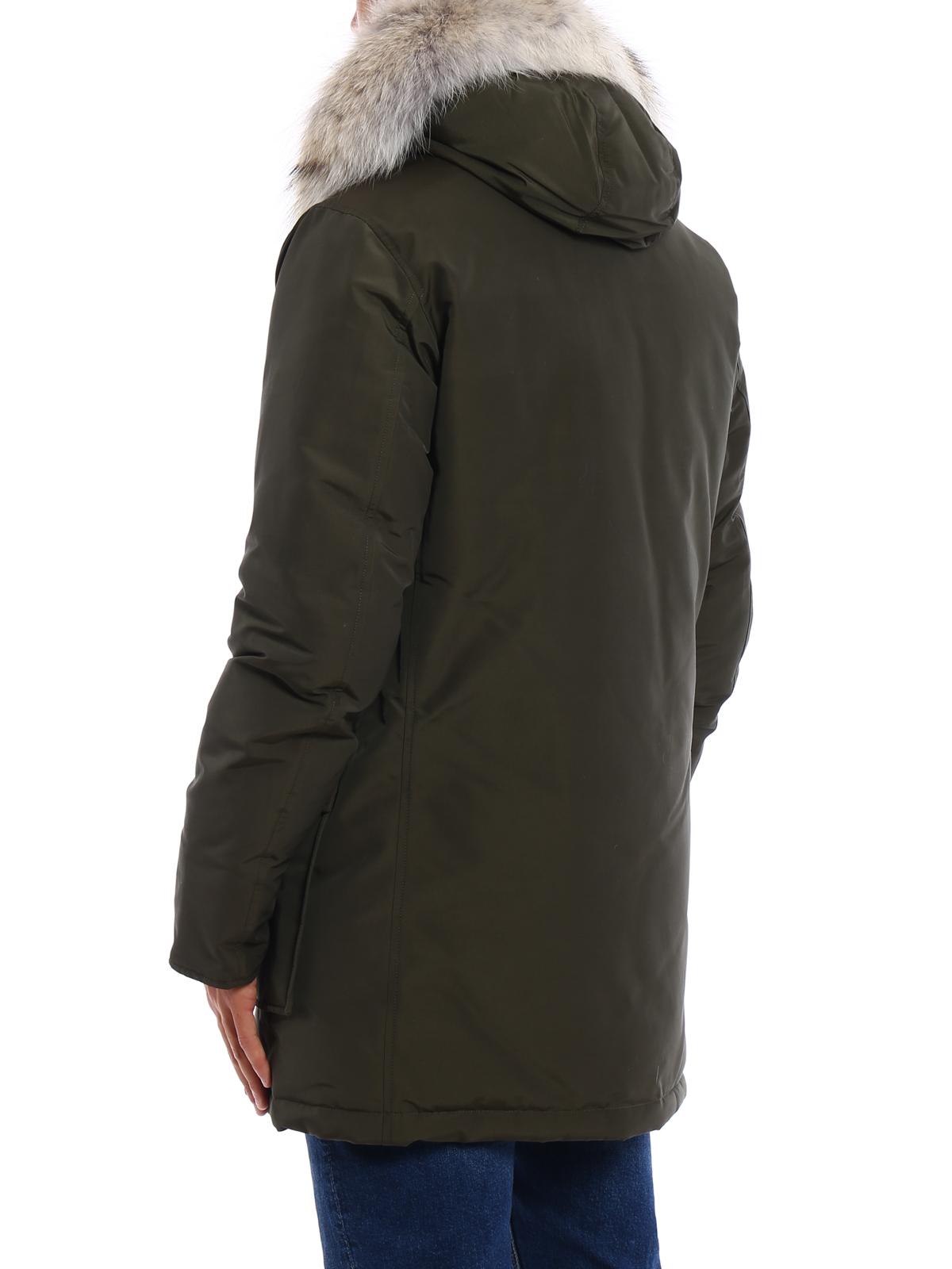 new concept fbc41 eeda4 Woolrich - Arctic Parka slim padded coat - parkas ...