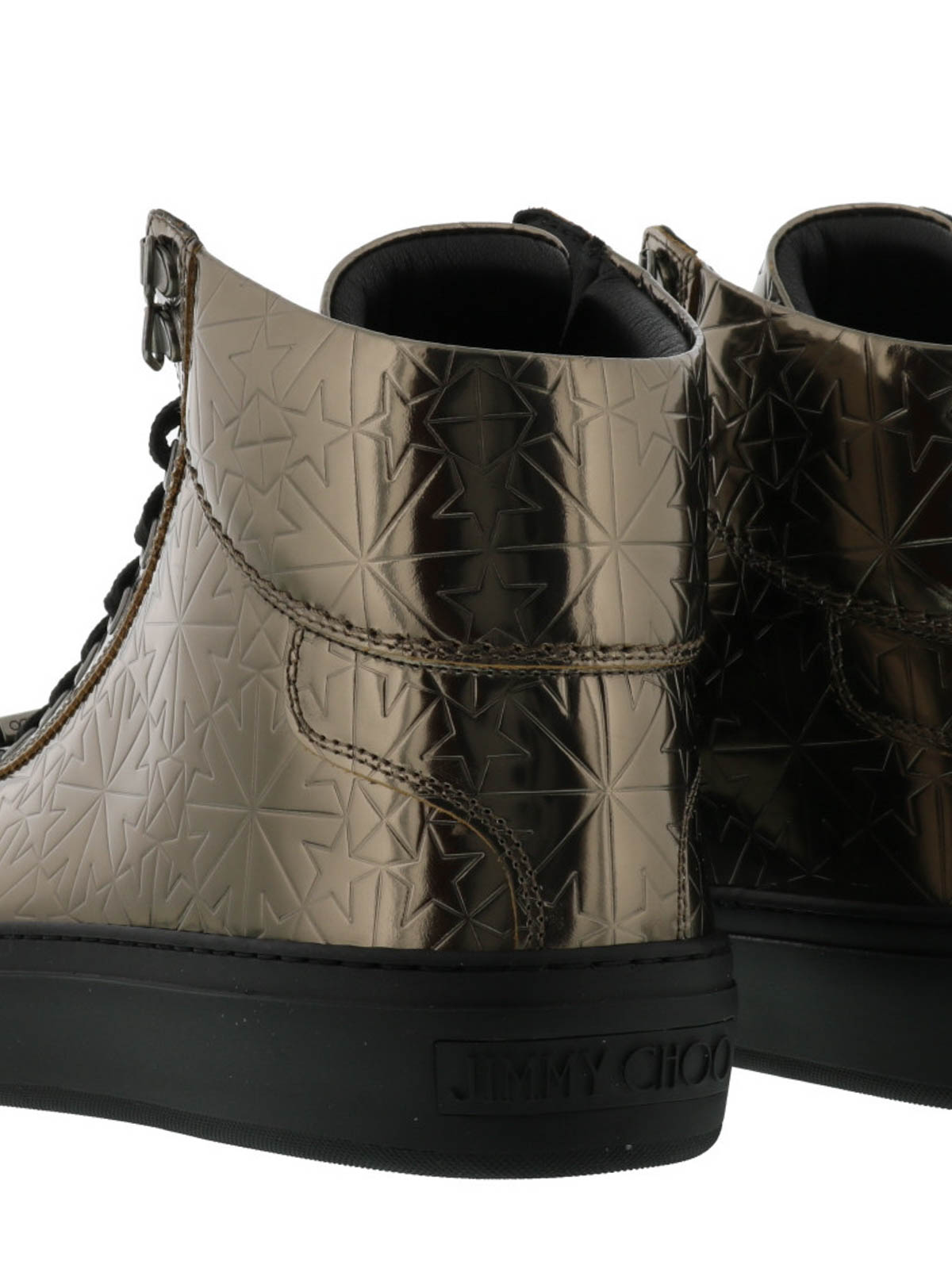 Jimmy Choo Sneaker HIGH ARGYLE metallic Leder