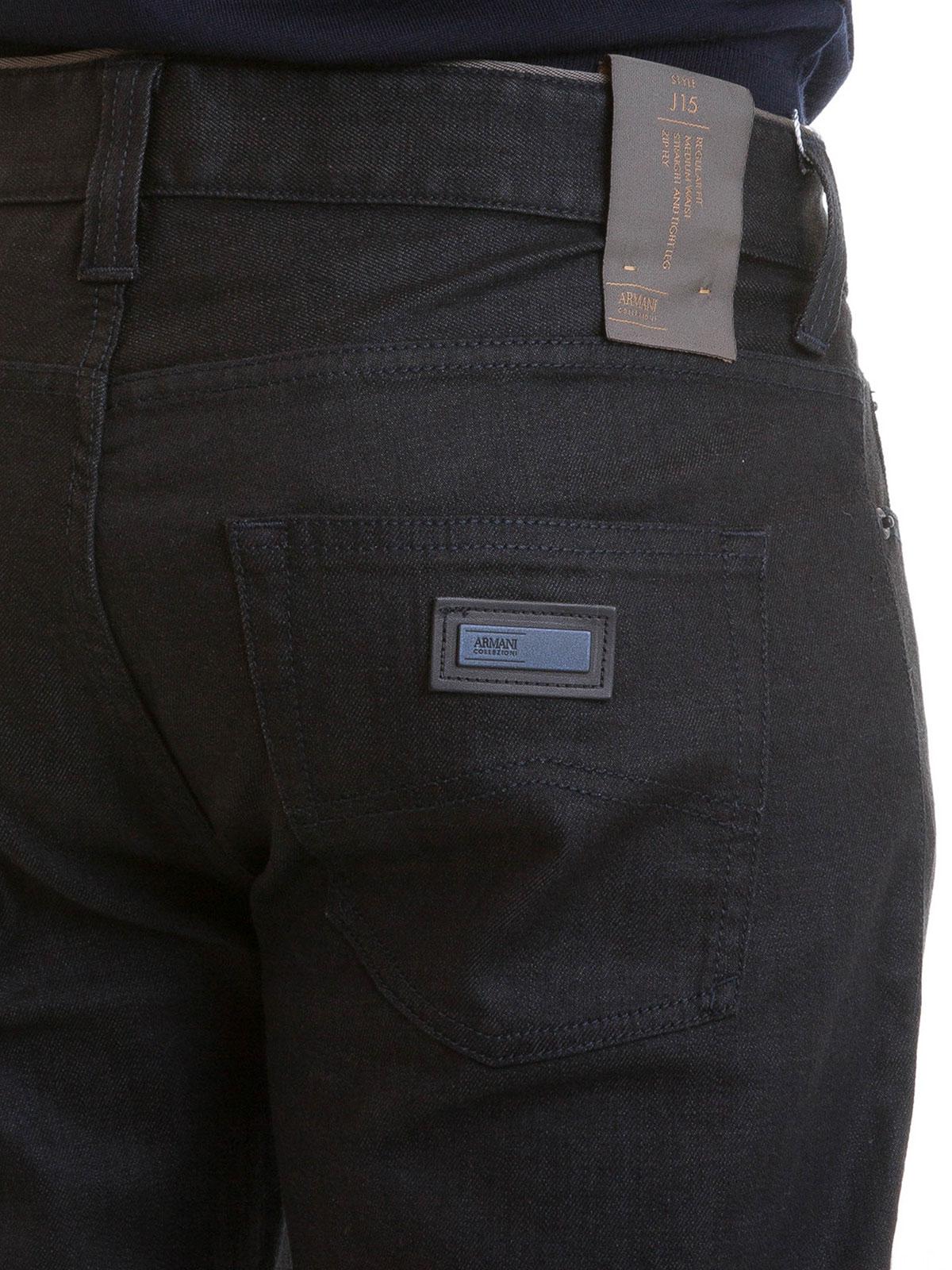 meet 7de77 91a29 Armani Collezioni - 5 pockets bootcut denim jeans - bootcut ...