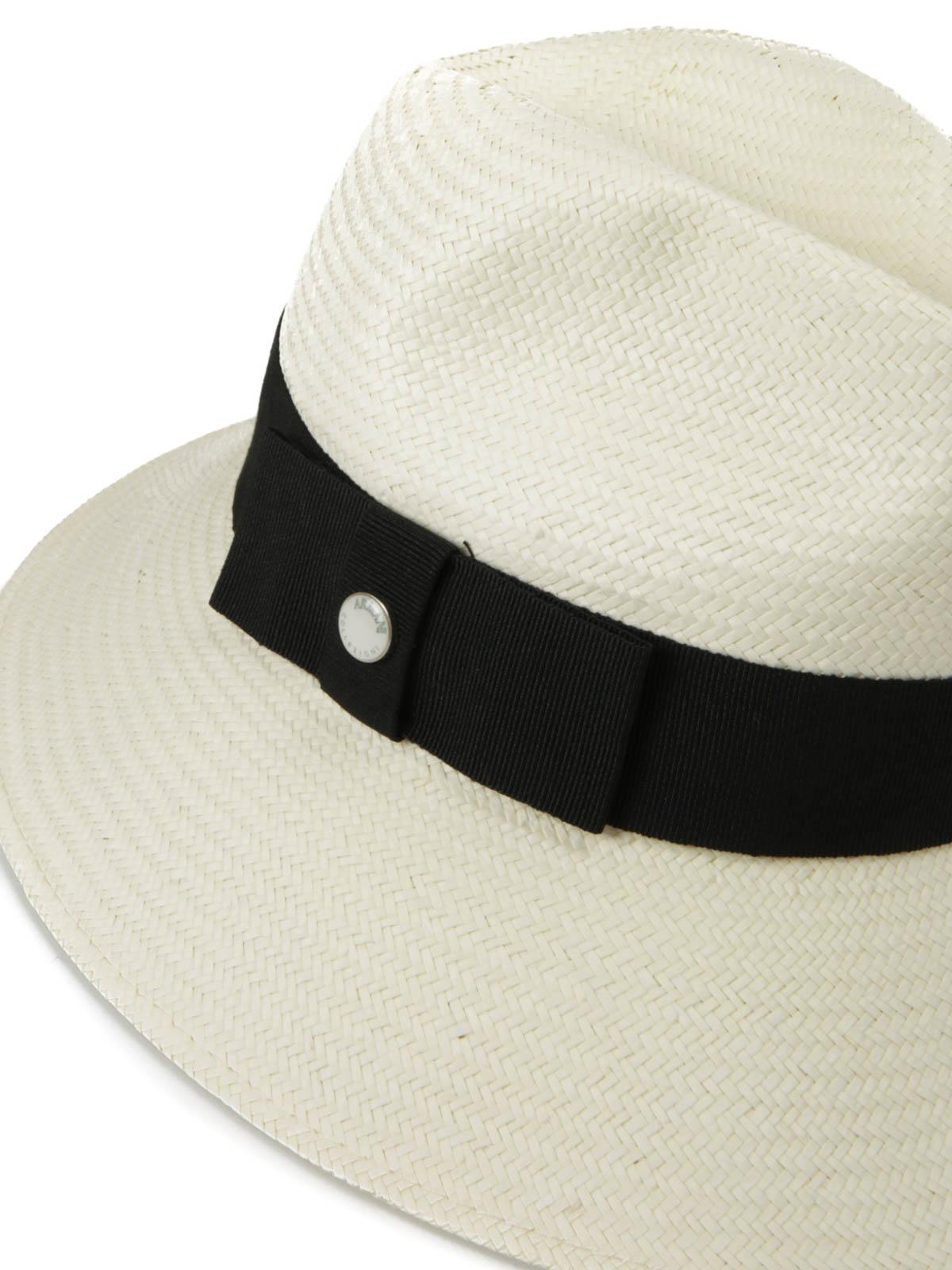 Armani Collezioni - Woven paper hat - hats   caps - 697254 6P505 00211 7958a771219