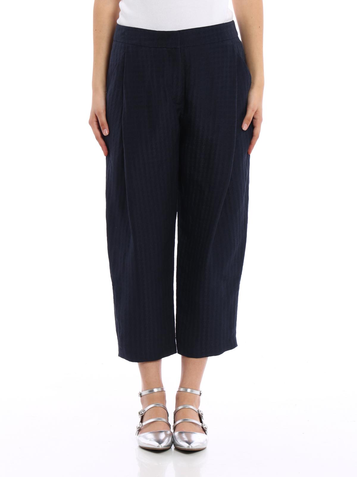 ARMANI COLLEZIONI  Pantalons casual online - Pantalon Casual Bleu Foncé a3388e32334