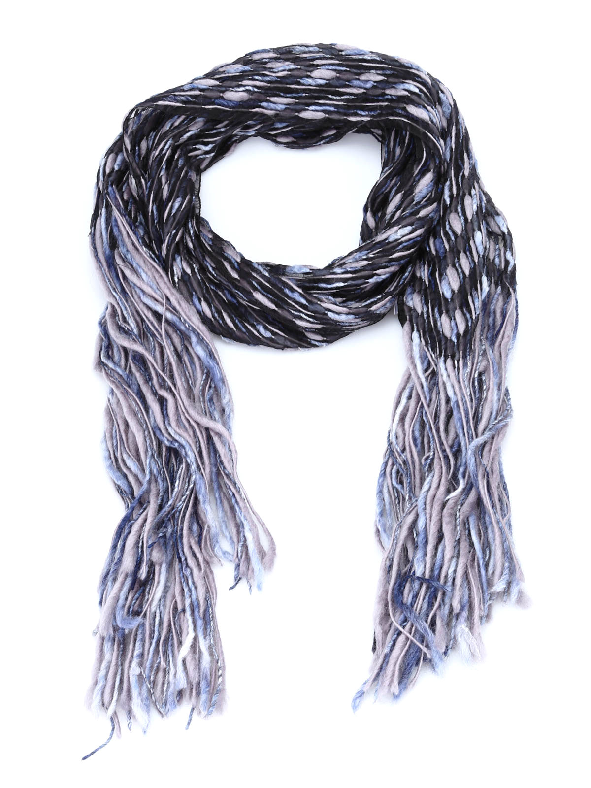 8273e2c02 Armani Collezioni - Wool scarf on a sheer texture - scarves - 695018 ...