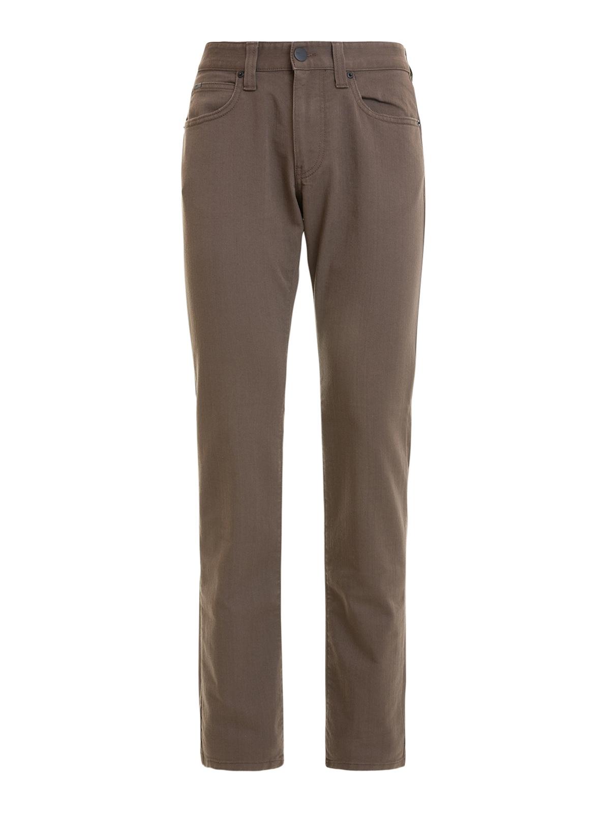 j06 low waist slim fit jeans by armani collezioni. Black Bedroom Furniture Sets. Home Design Ideas