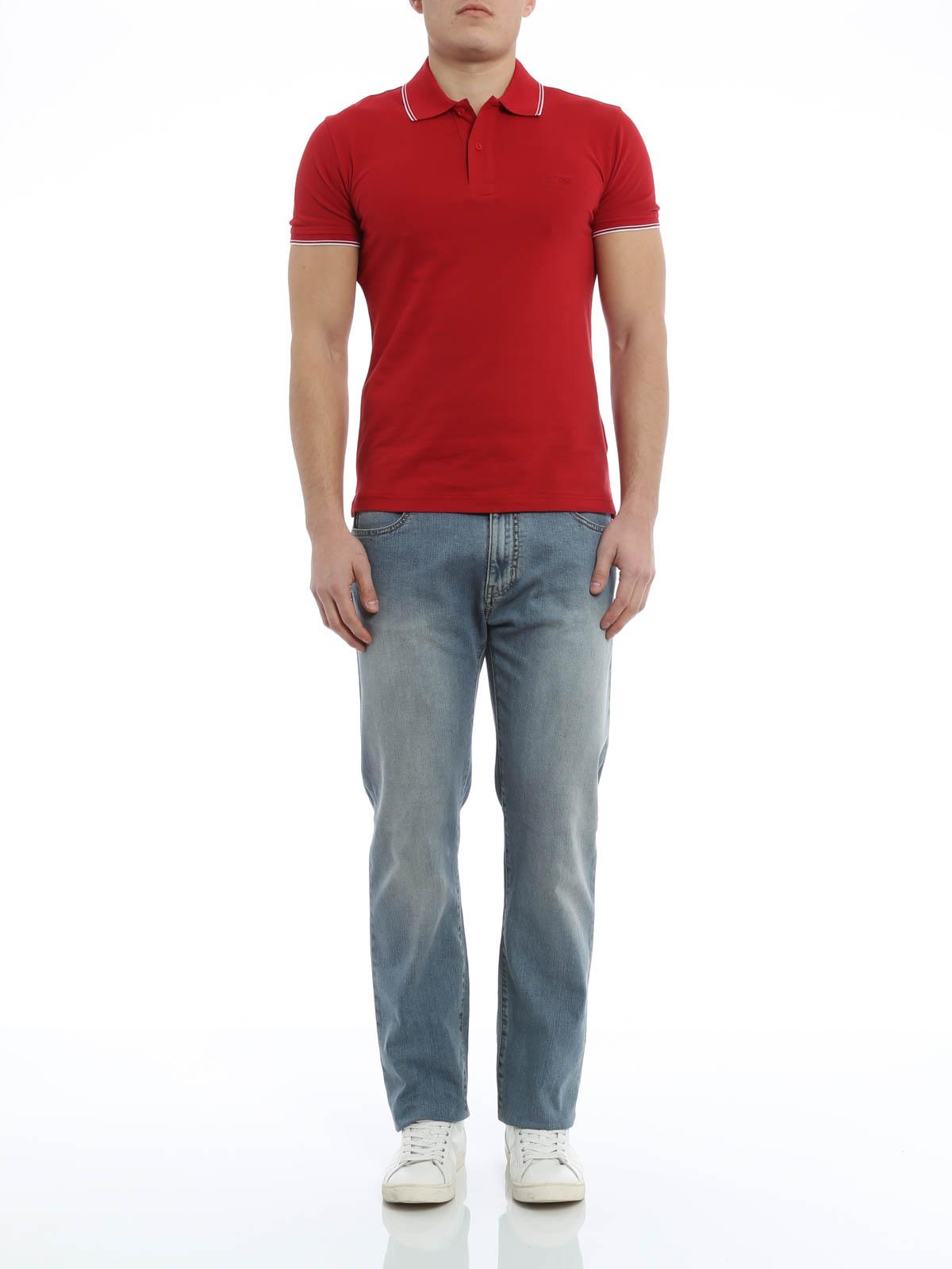 armani jeans polo
