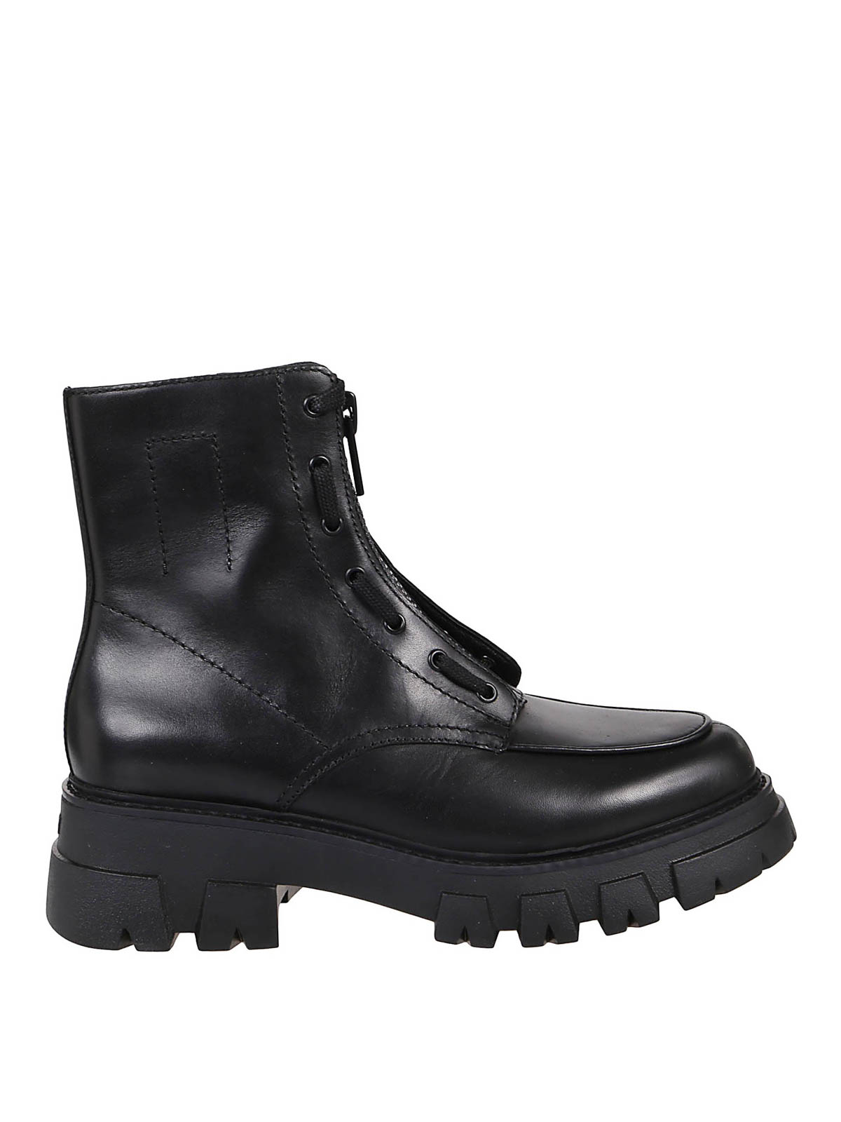 Ash Leathers LYNCH COMBAT BOOTS