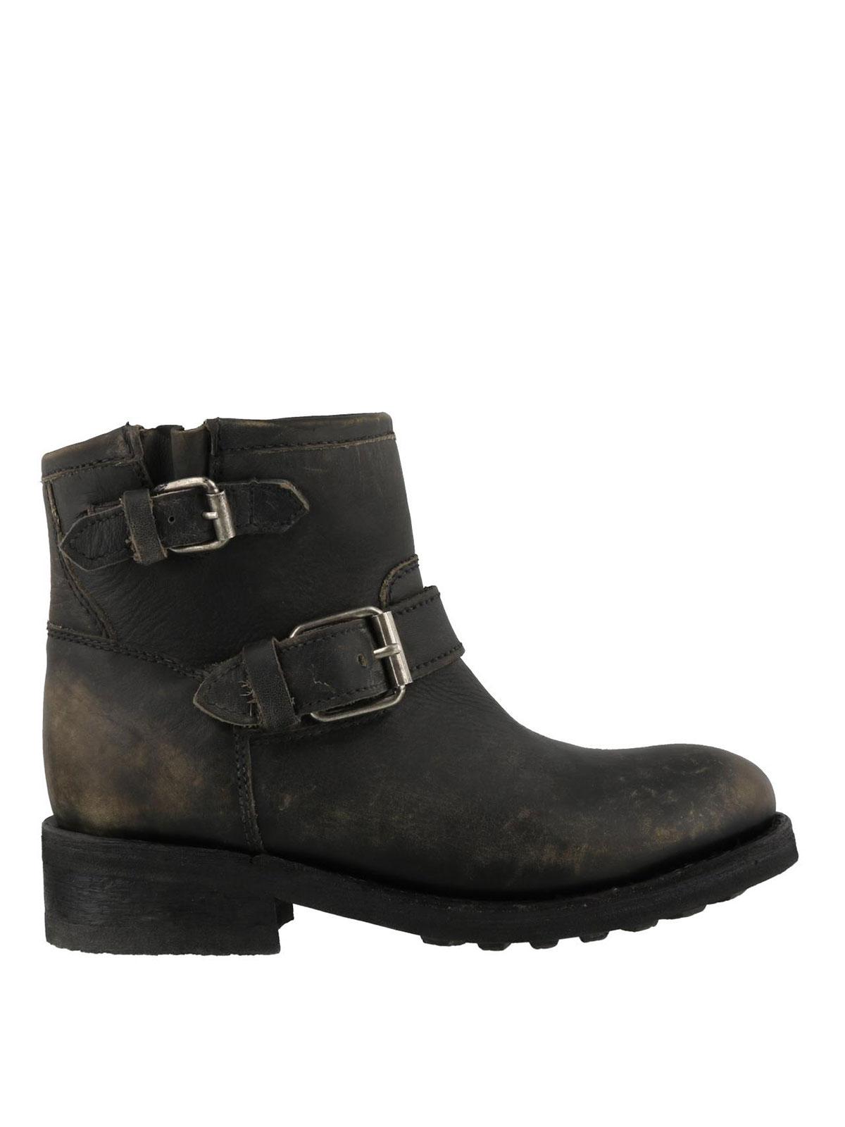 73e80123584aa2 Ash - Trick ankle boots - Bottines - TRICK BLACK   iKRIX.com