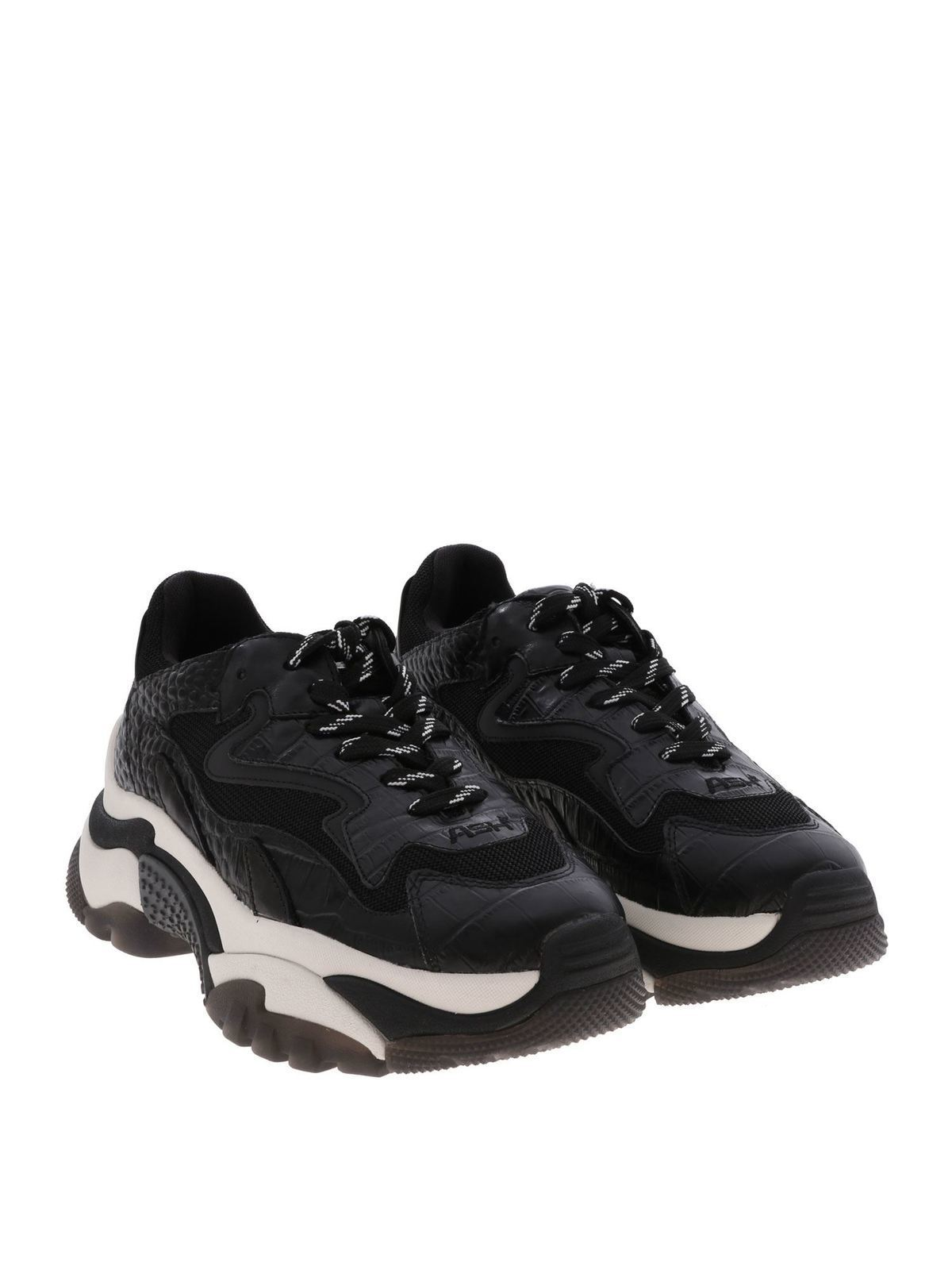 Ash - Addict sneakers in black - اسپرت
