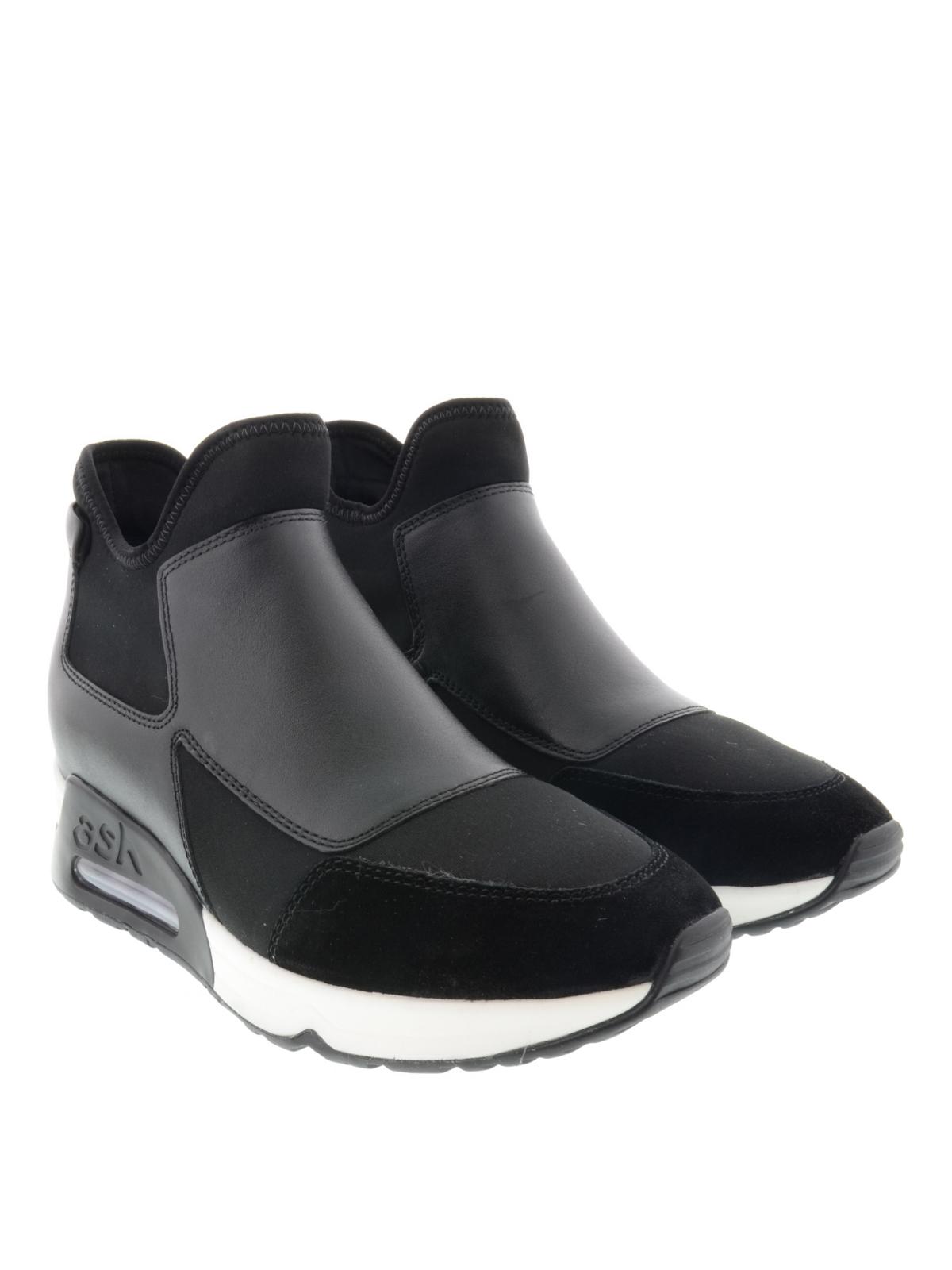 Femme Pour Noir De Ash Black Baskets Sport Lazer Chaussures thQCdxrs