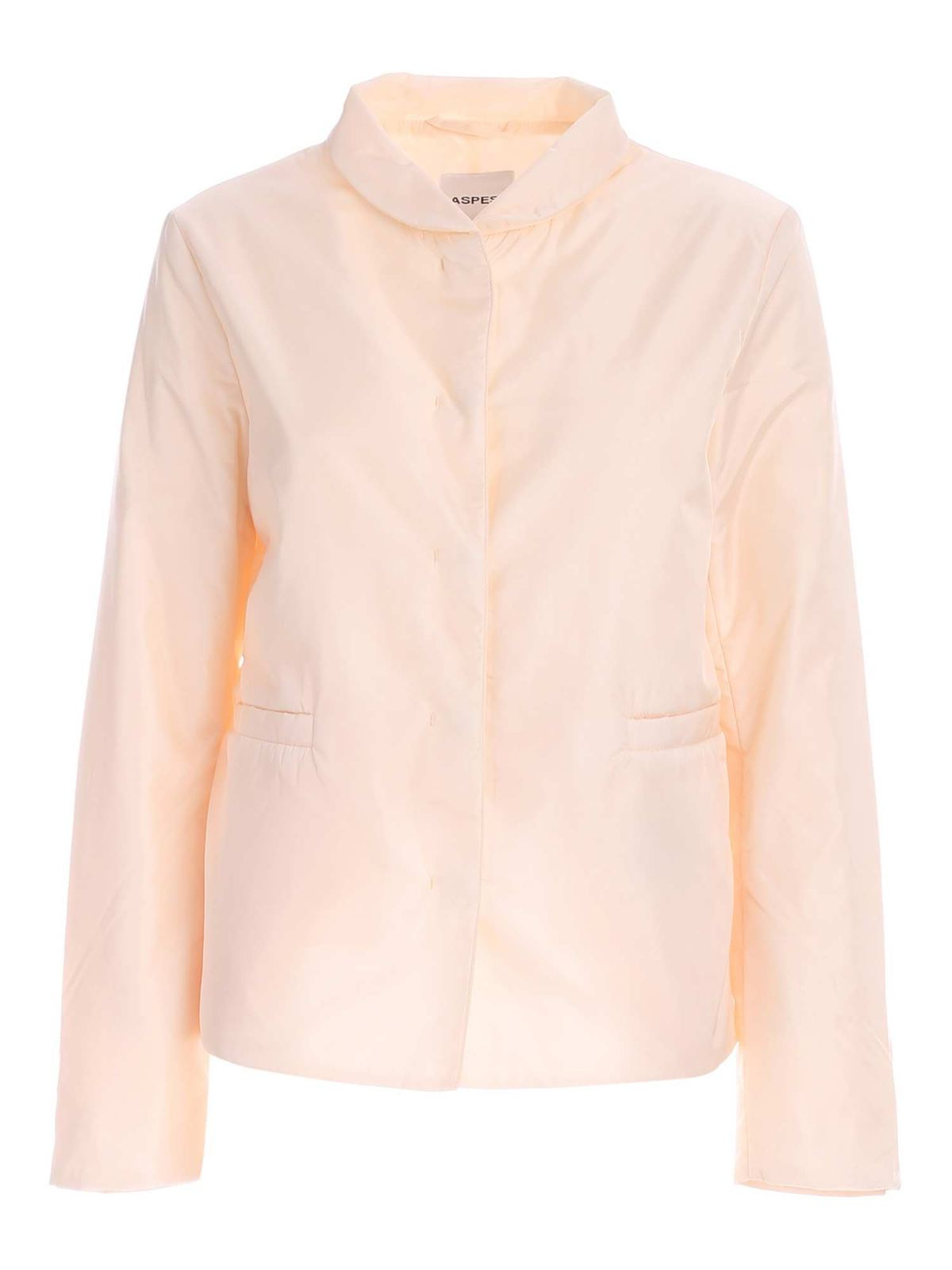 Aspesi MOSTARDA JACKET IN CREAM COLOR