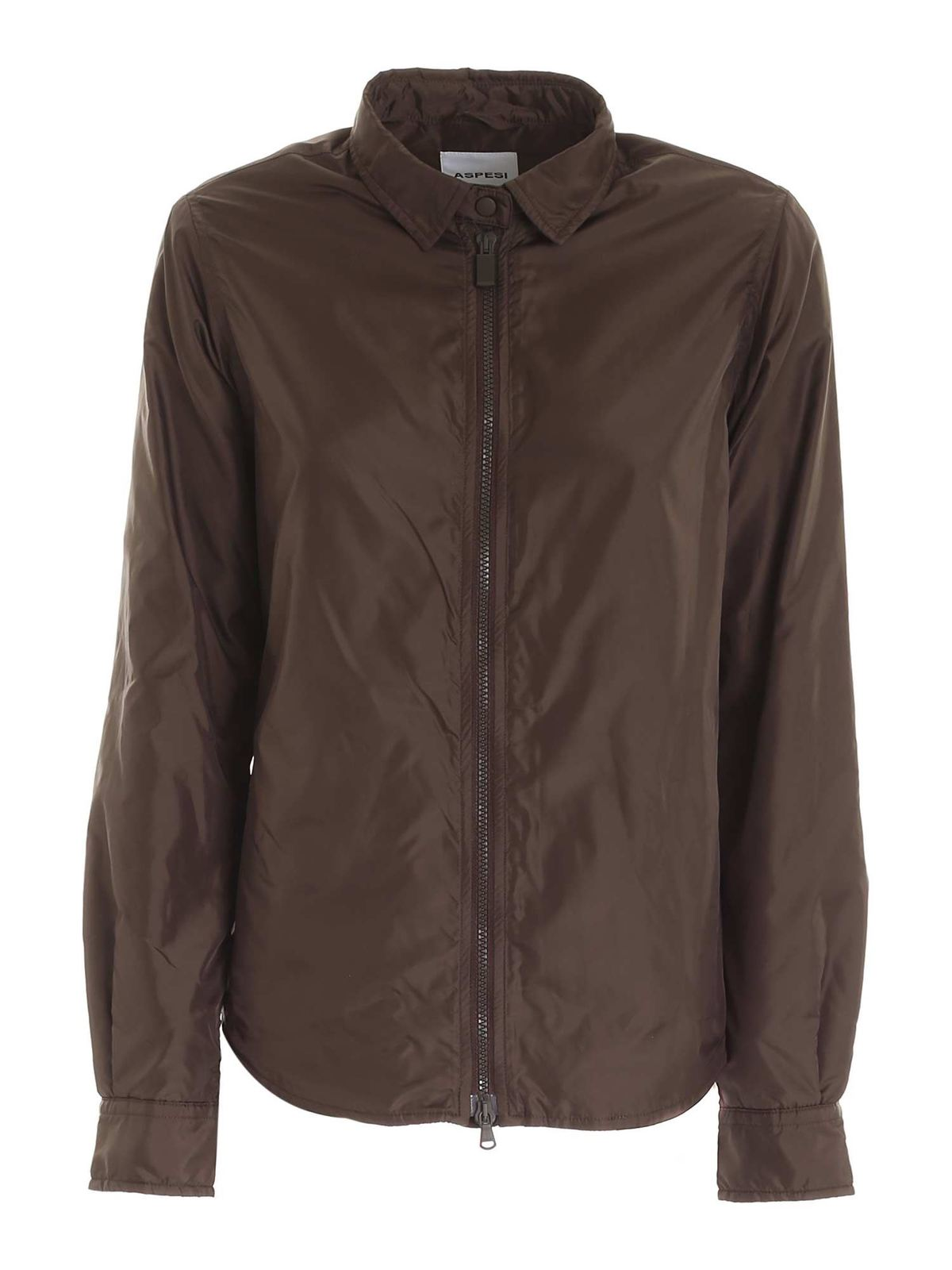Aspesi TOMINO JACKET IN BROWN
