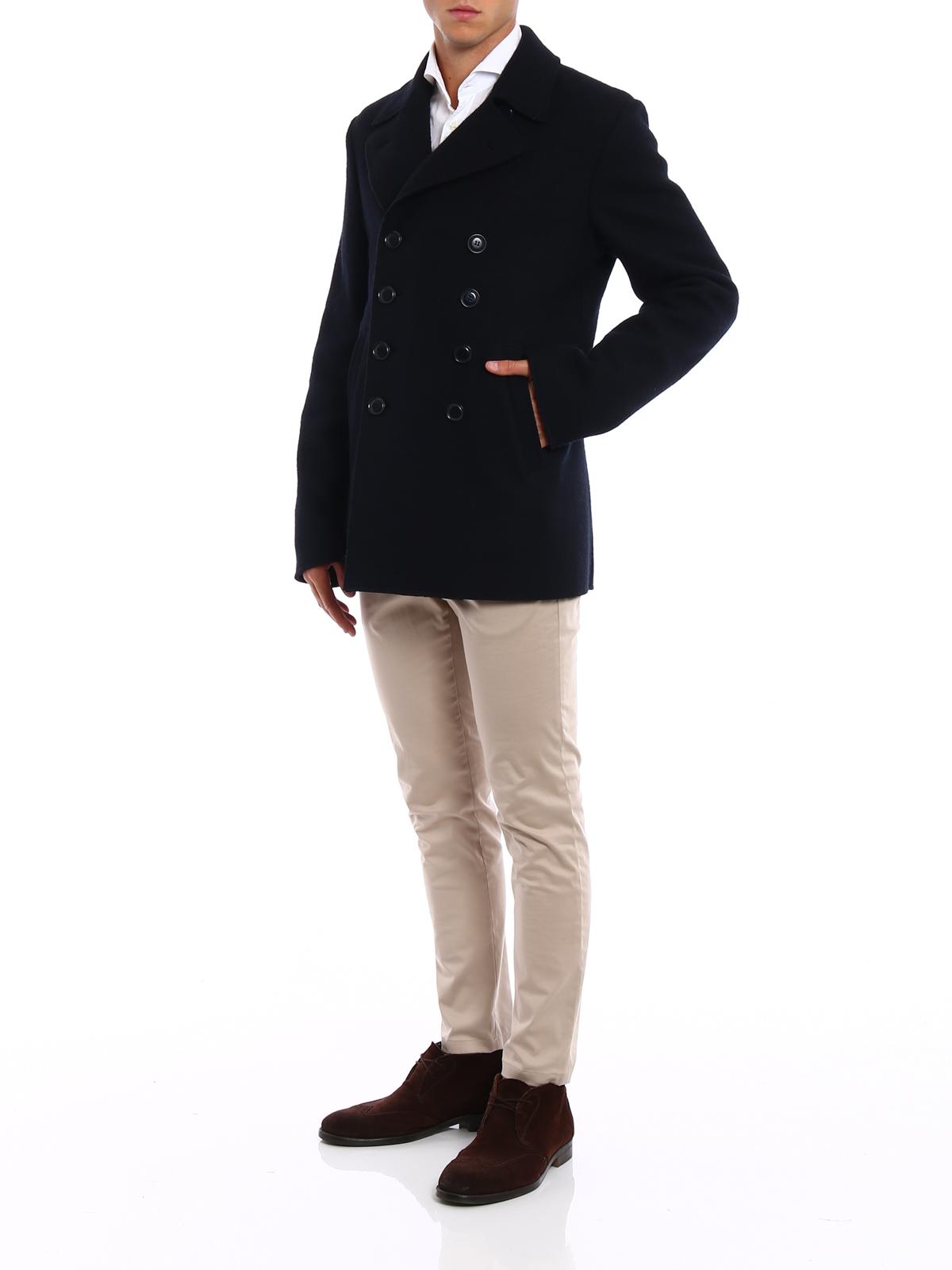 Aspesi Caban in lana cotta giacche casual CG29E52201098