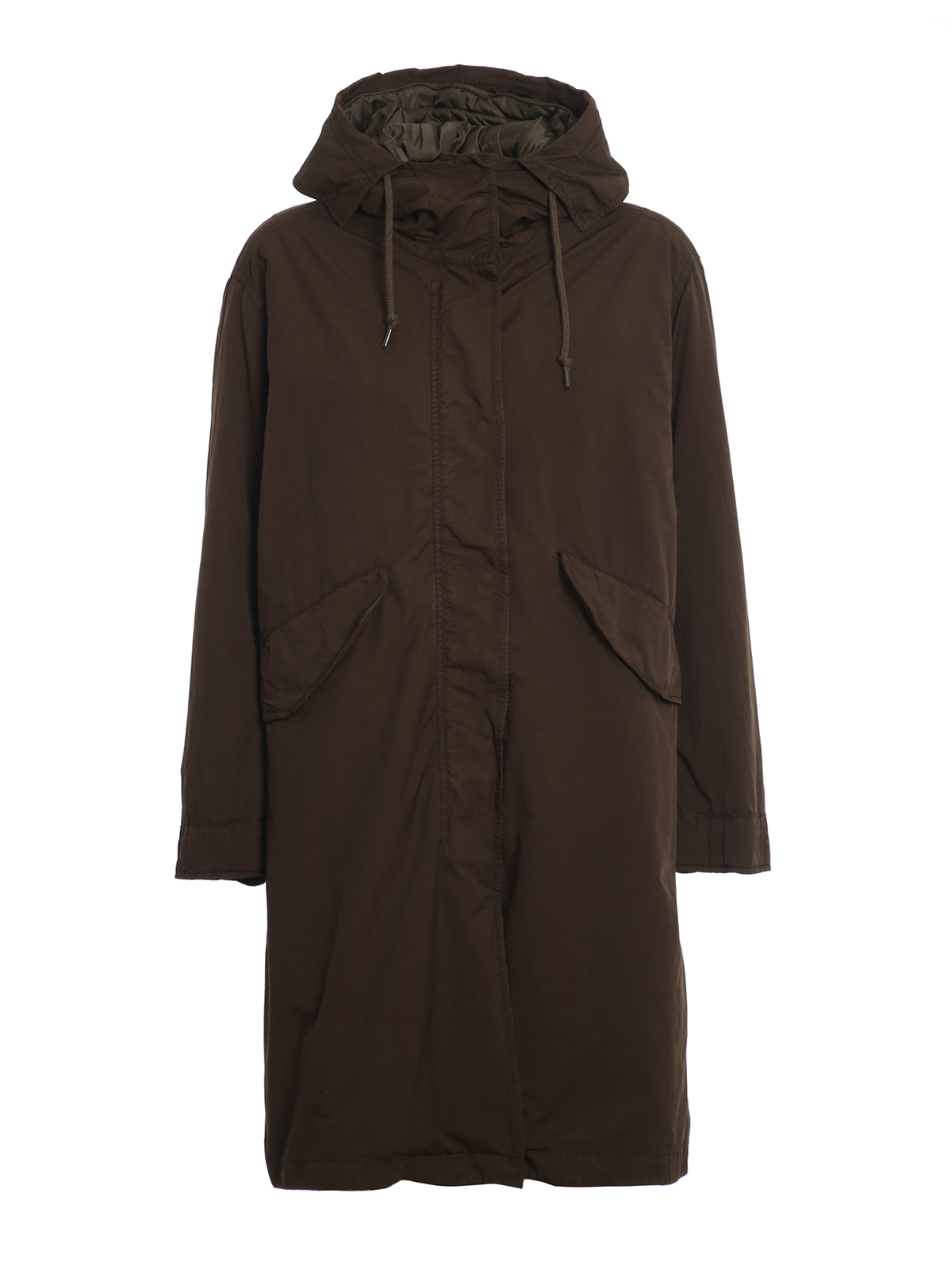 Aspesi HOODED LONG PARKA
