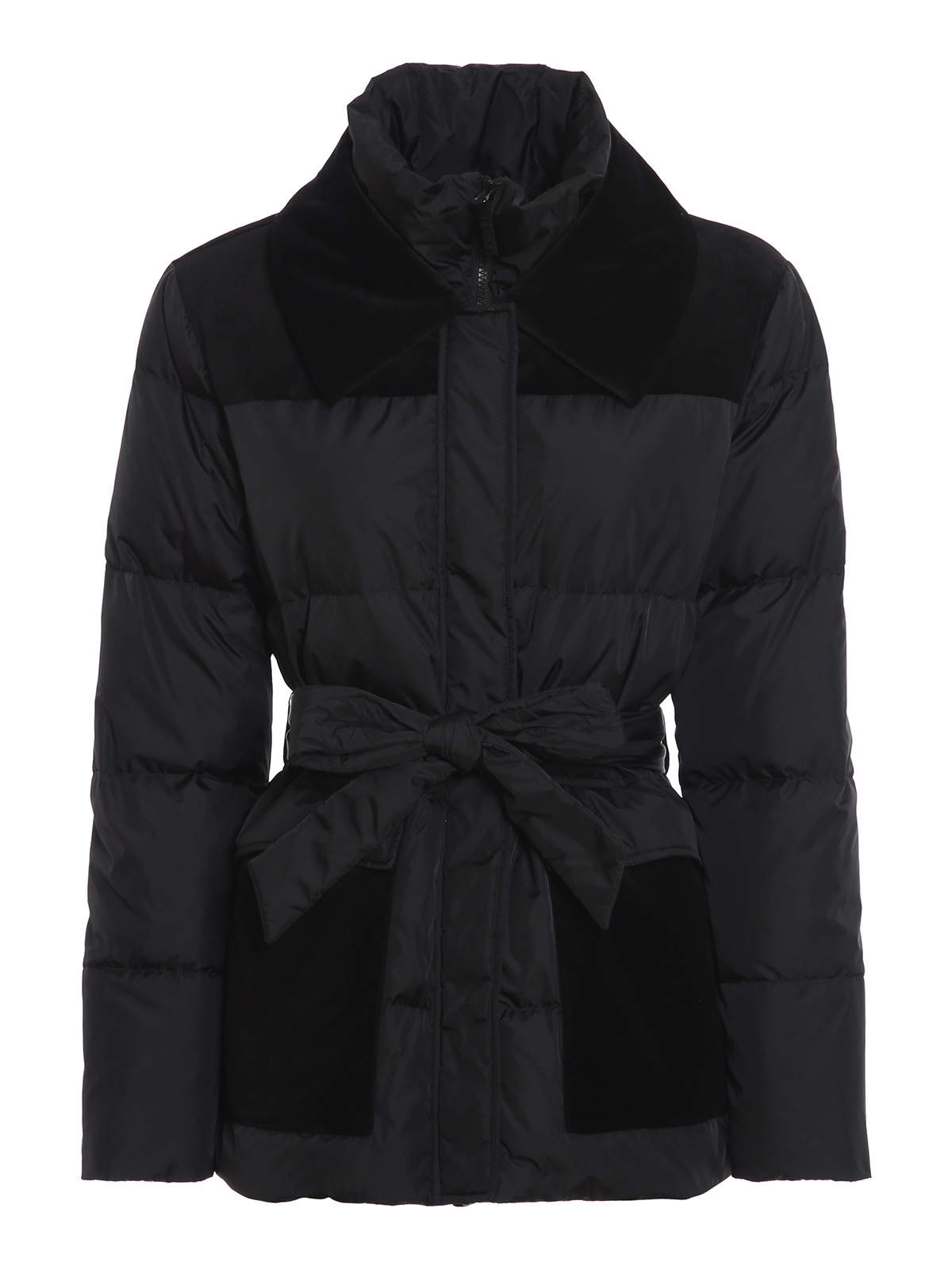 Aspesi VELVET COLLAR PADDED JACKET