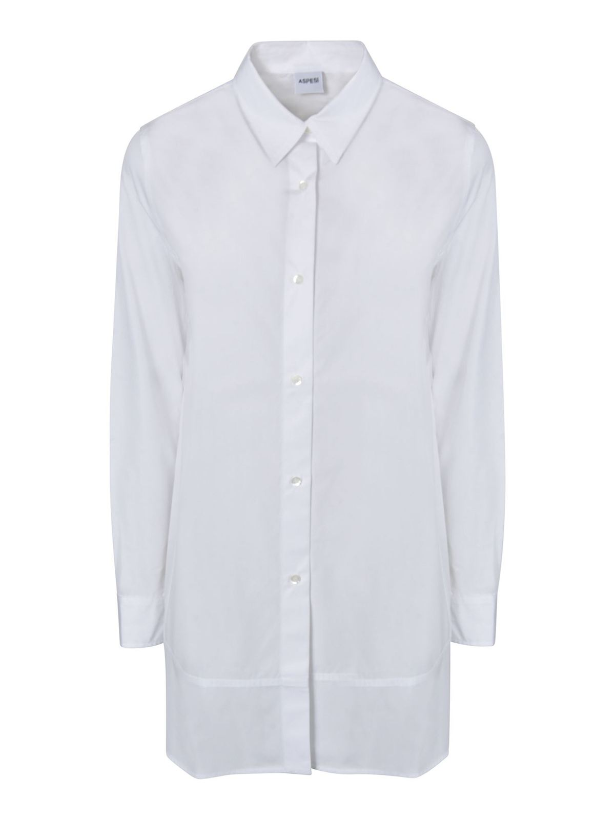 ASPESI H720 SHIRT IN WHITE