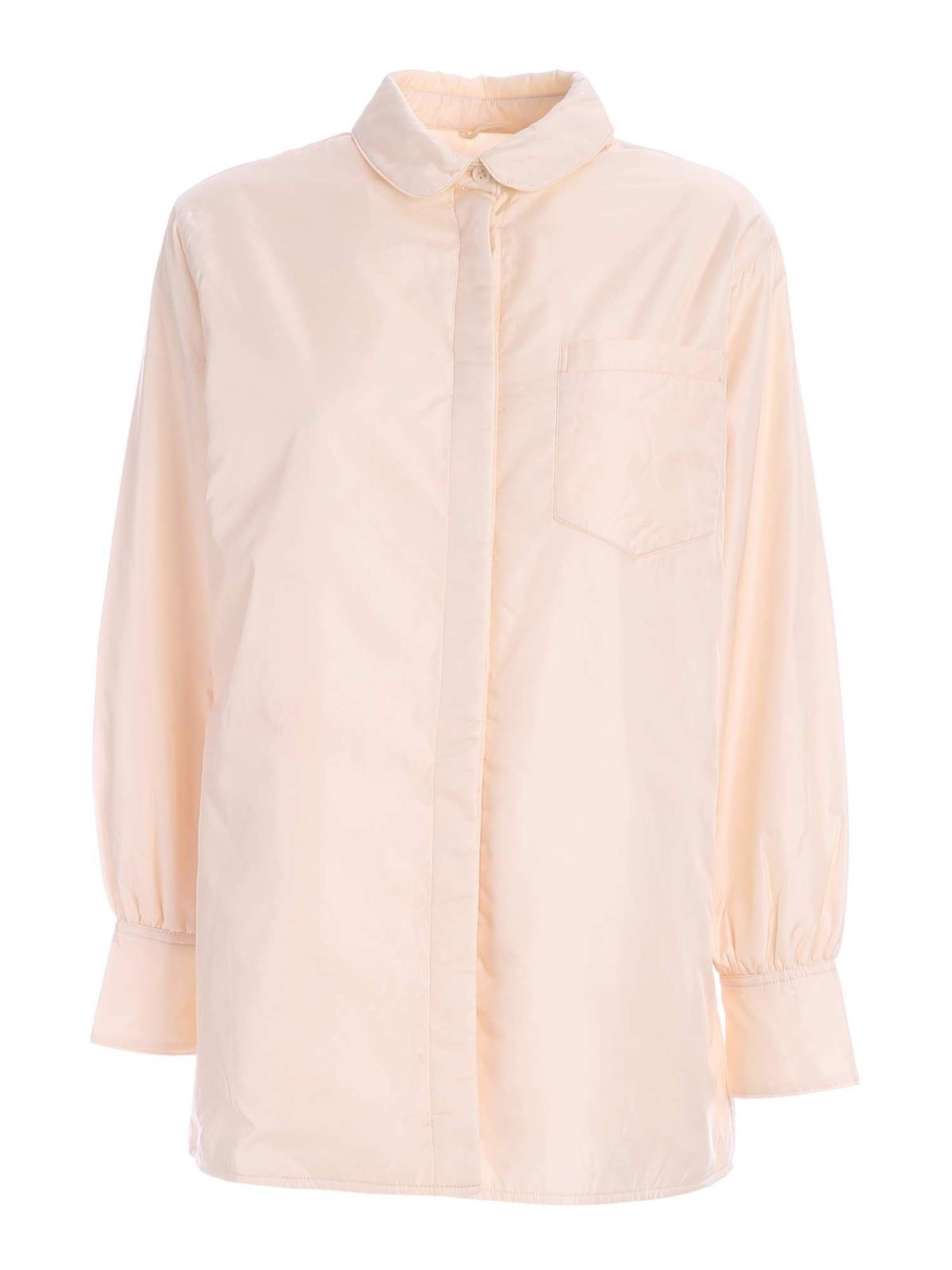 Aspesi PIADINA SHIRT IN CREAM COLOR