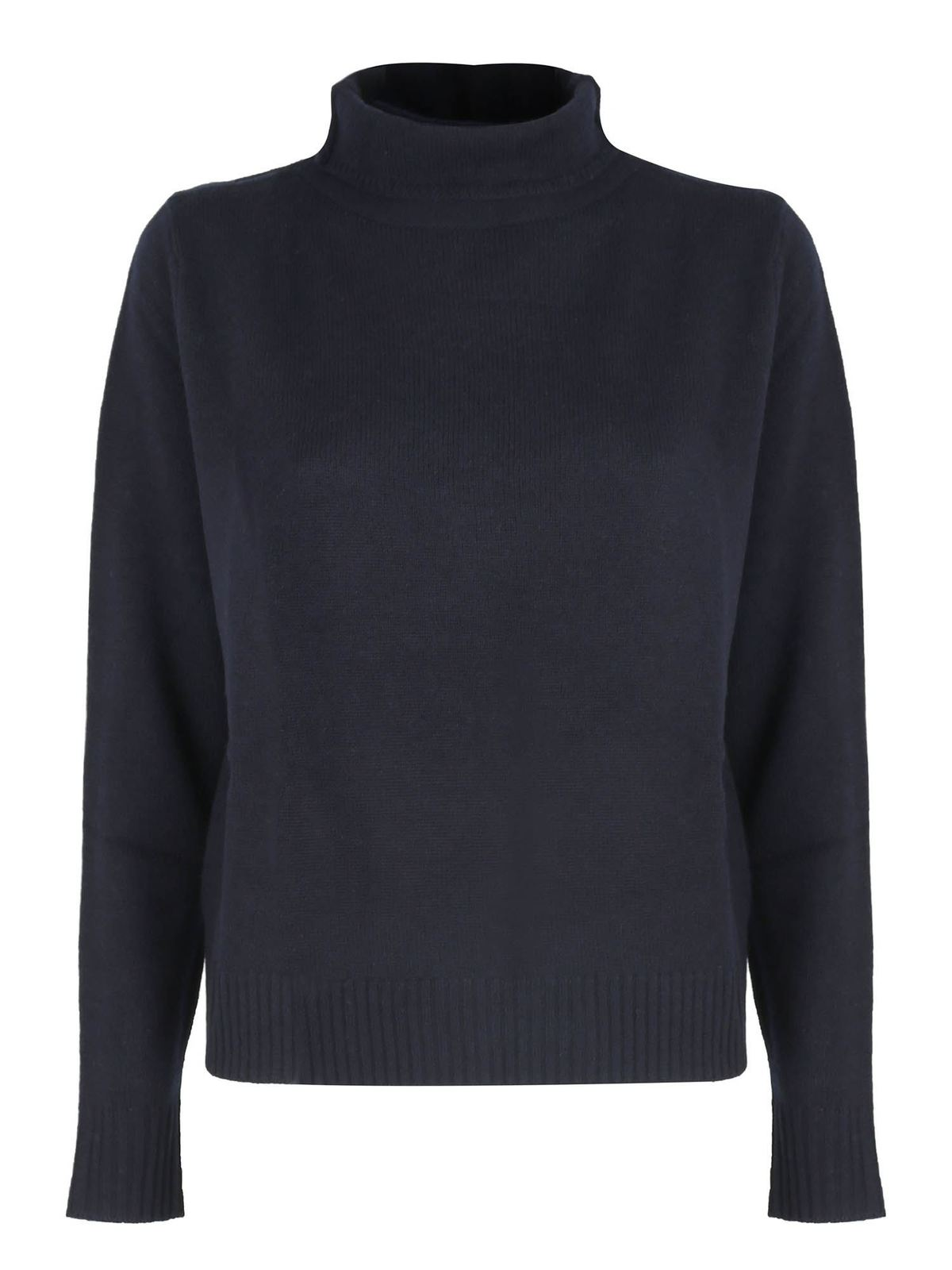 Aspesi RELAXED FIT PULLOVER IN BLUE