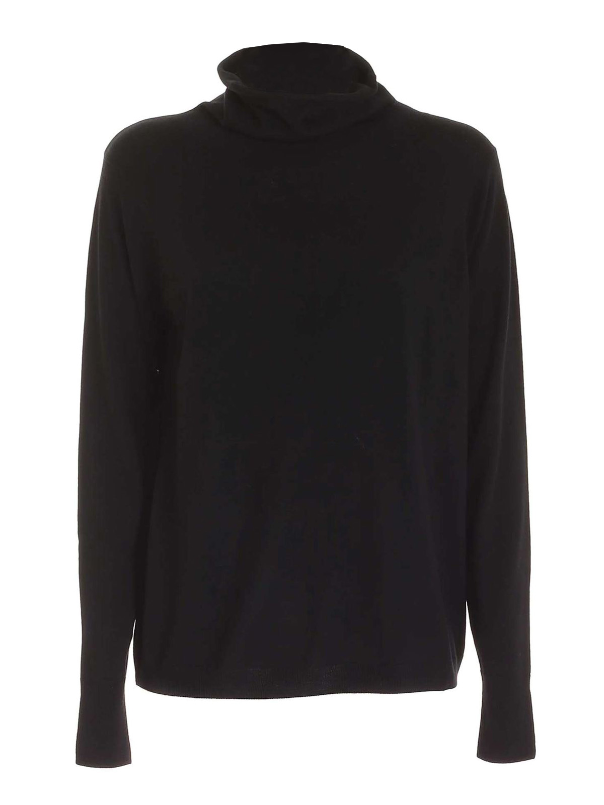 Aspesi WOOL TURTLENECK IN BLACK