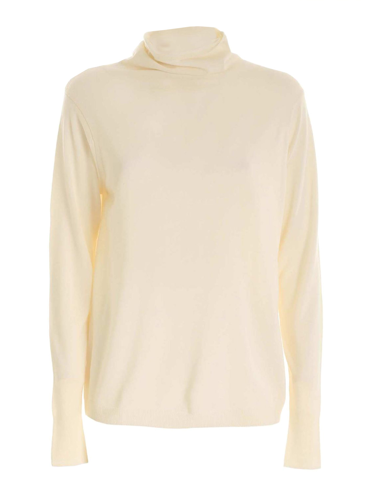 Aspesi WOOL TURTLENECK IN CREAM COLOR
