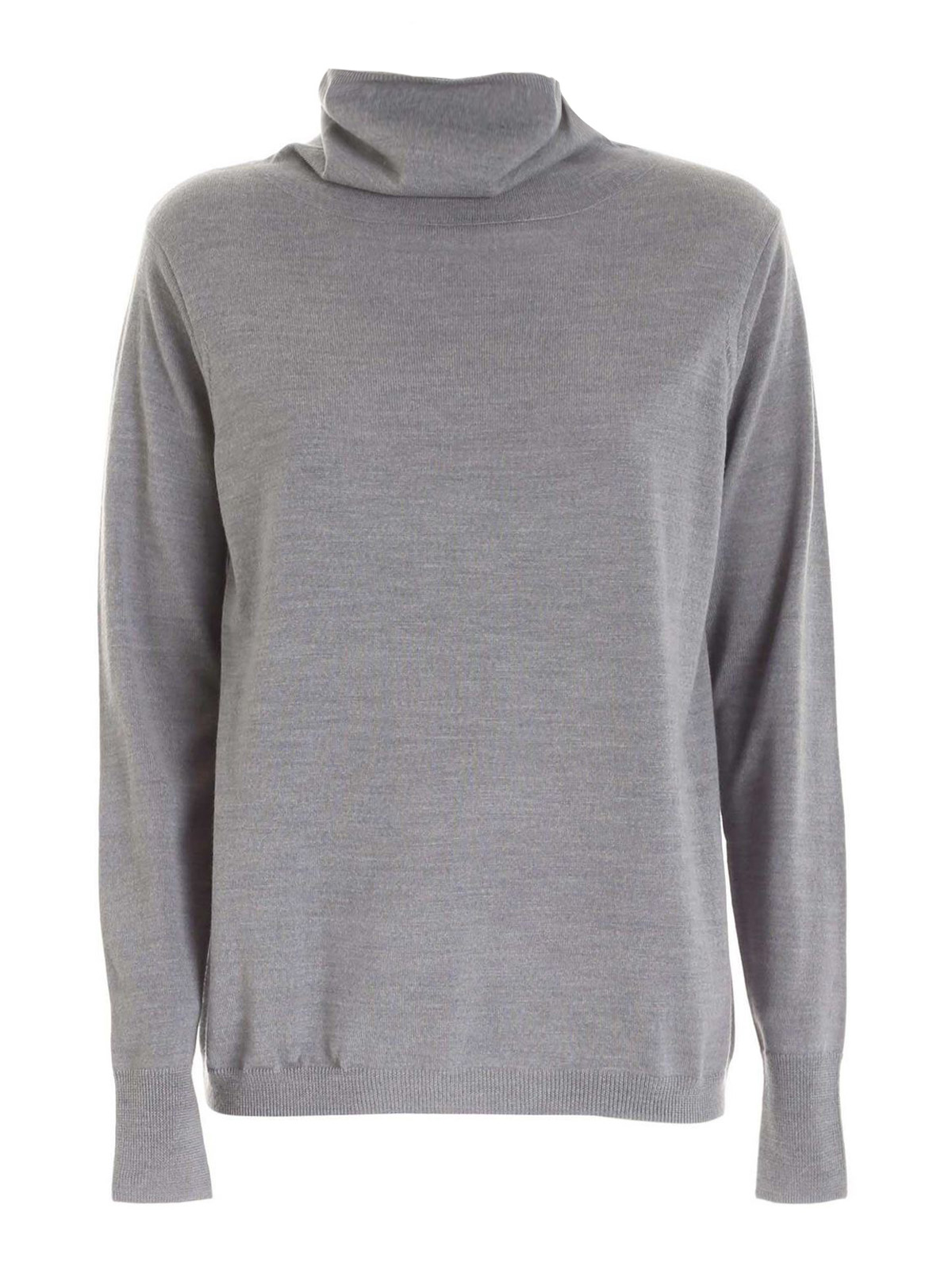 Aspesi WOOL TURTLENECK IN GREY
