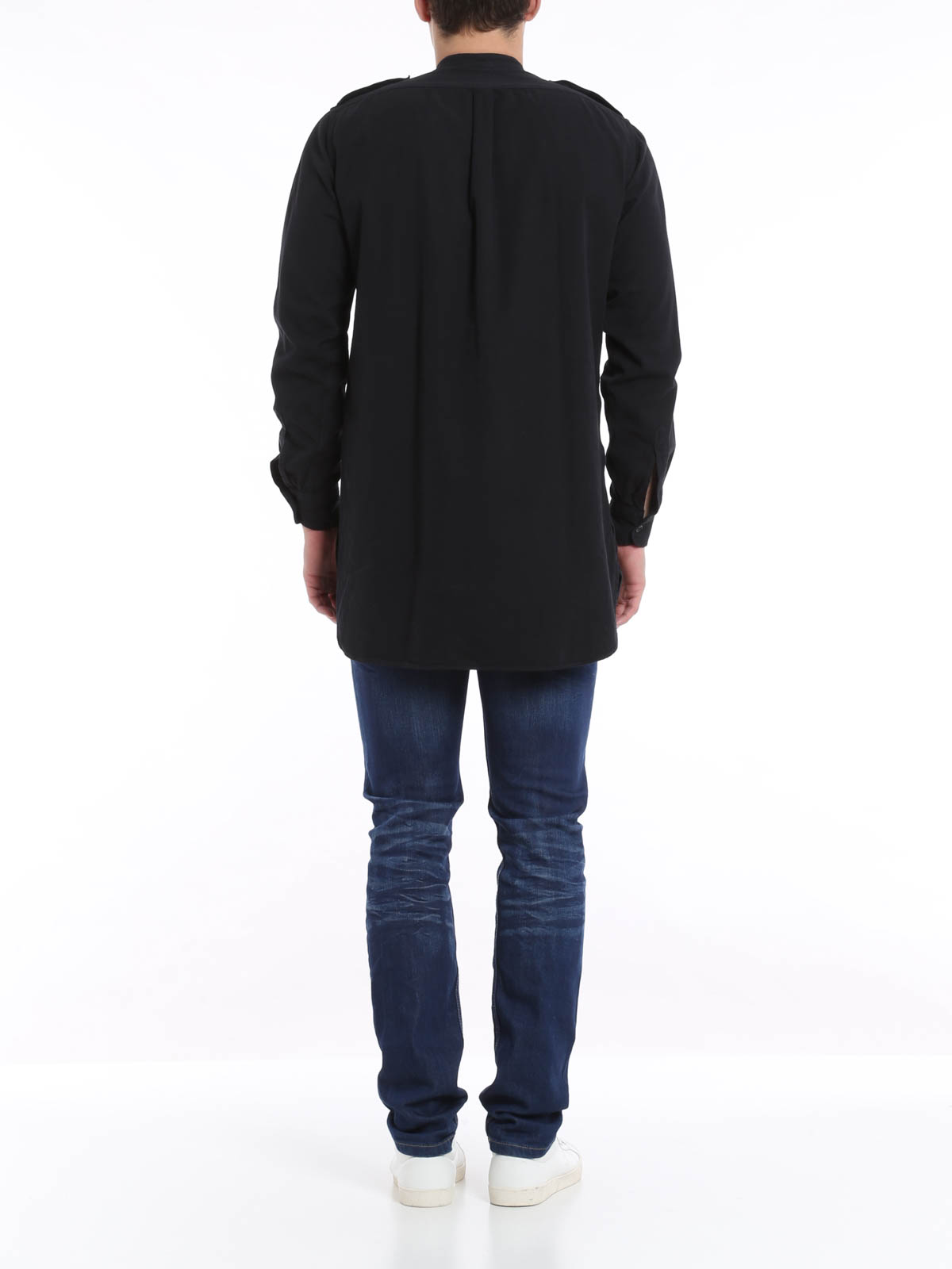 camicia oversize dries van noten camicie ikrix. Black Bedroom Furniture Sets. Home Design Ideas