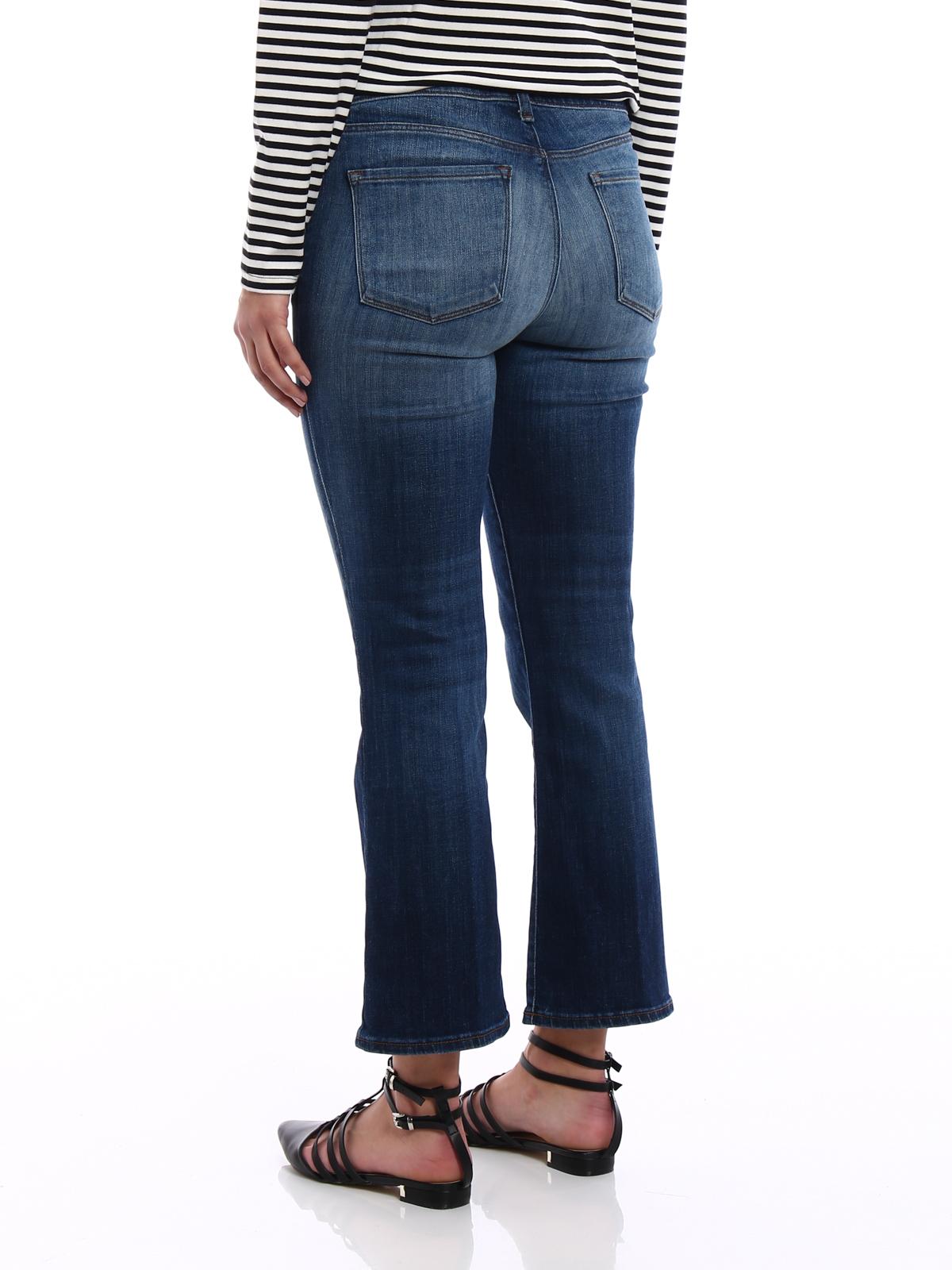 Aubrie De Grande Hauteur Recadrée Marque De Jeans J kYLbo4w4n