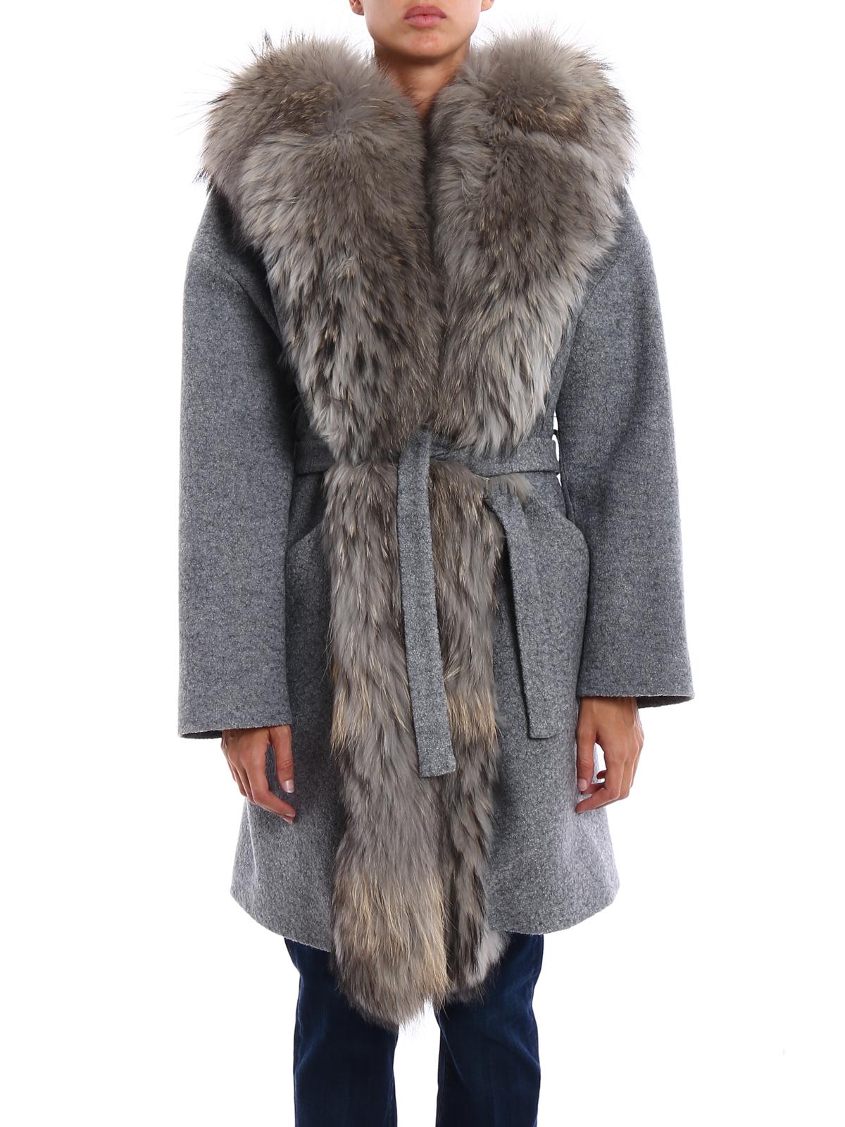 e pelliccia cotta lana cappotti corti in Cappotto Ava Adore cWnPX4X