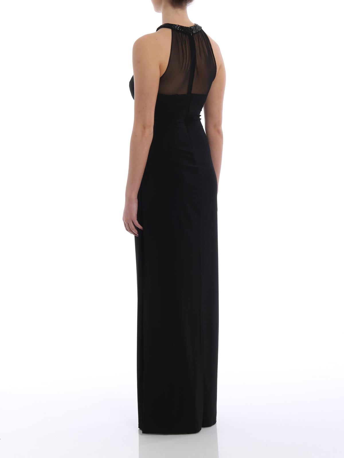Azusa Jersey Evening Dress Online Lauren Ralph