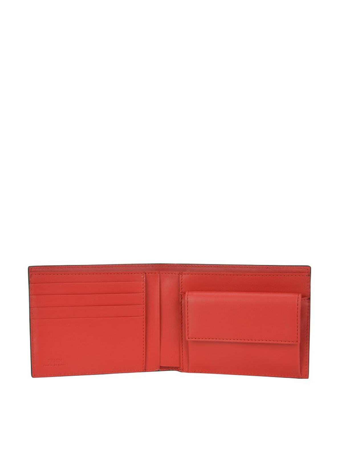 43ead99d5f Fendi - Bag Bugs leather bi-fold wallet - wallets & purses ...