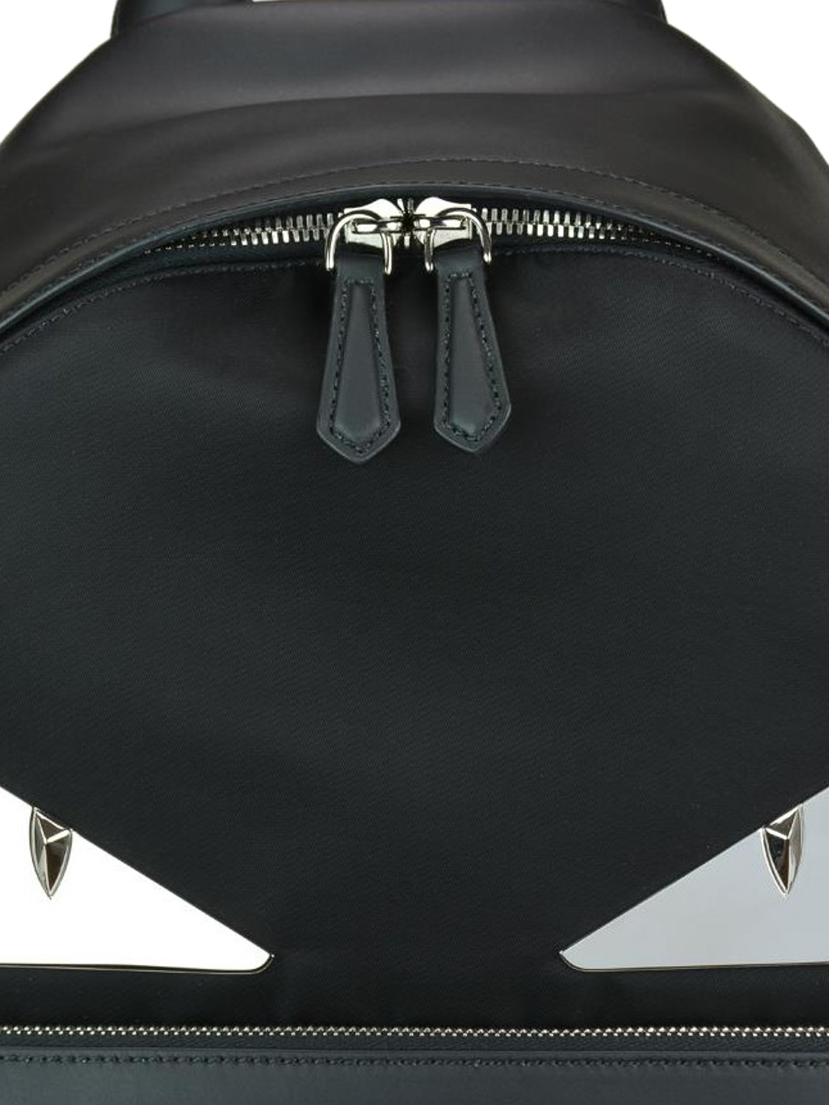 2db874c621e ... new concept a0876 2cf9f Bag Bugs nylon and leather backpack shop online  FENDI ...
