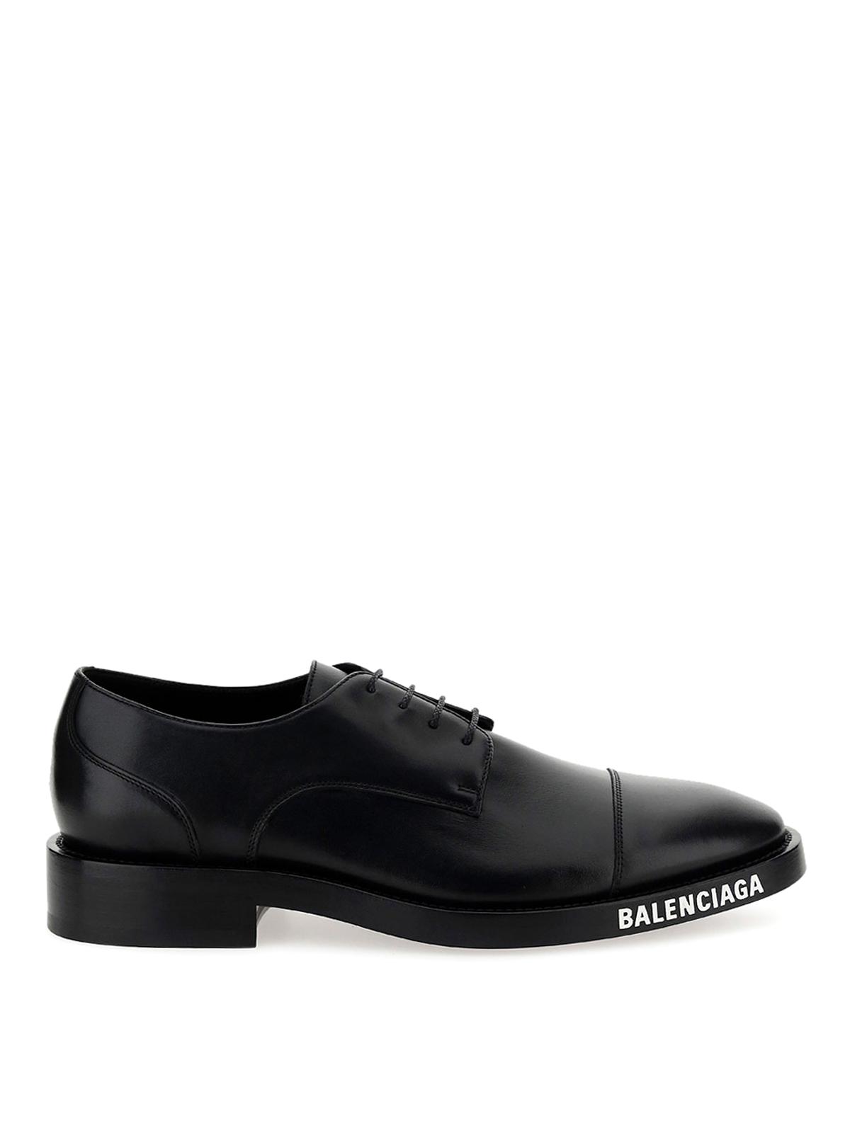 Balenciaga CALFSKIN DERBY SHOES