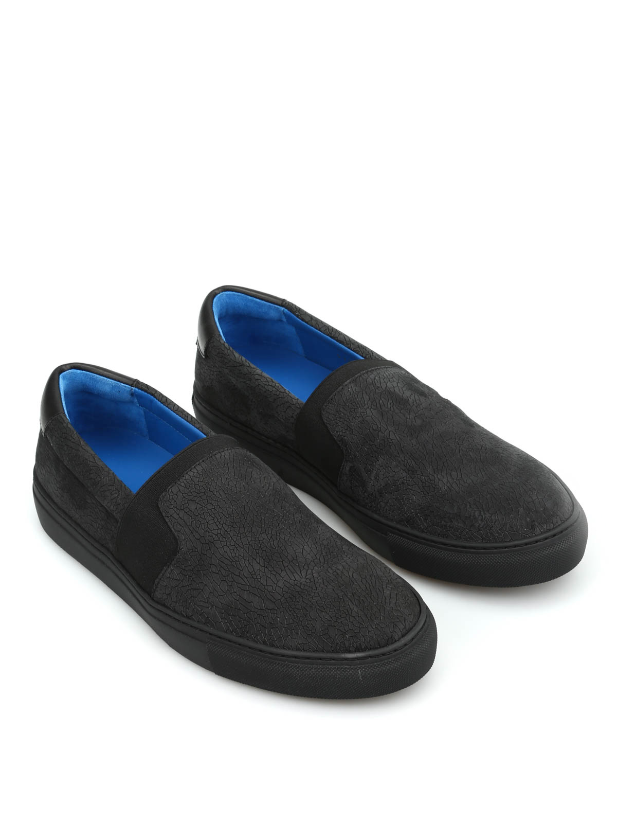 8662a58b5ef2 Balenciaga - Leather slip-on - Loafers   Slippers - 412353 WAX91 1000