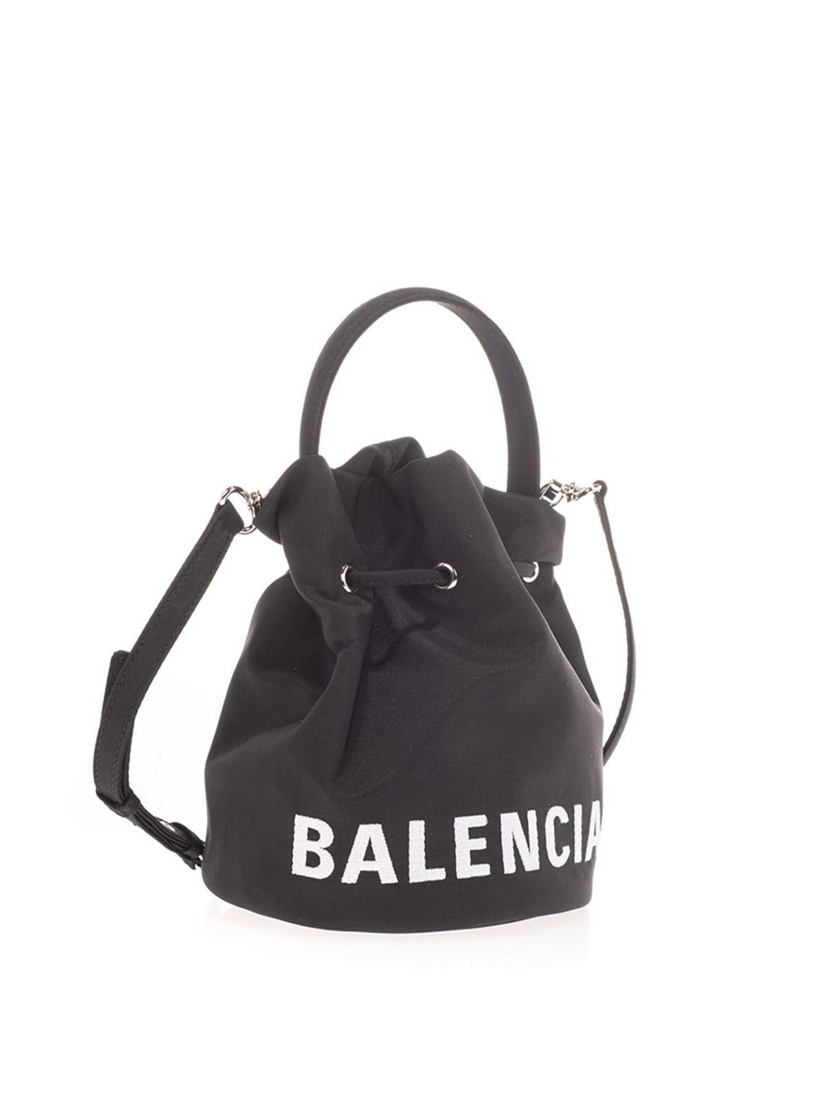 Balenciaga Small Wheel Satchel Bag کیف خمره ای 619458h854n1060