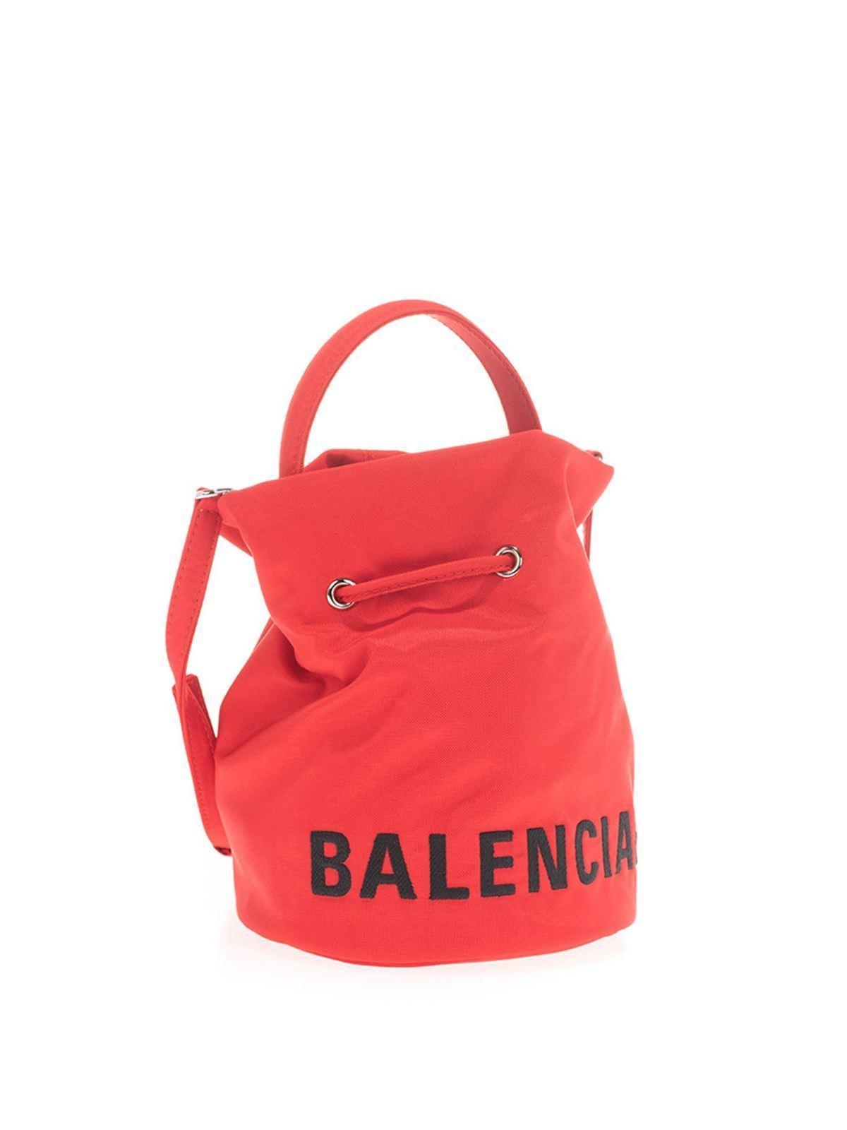Balenciaga Small Wheel Satchel Bag Bucket Bags 619458h854n6460
