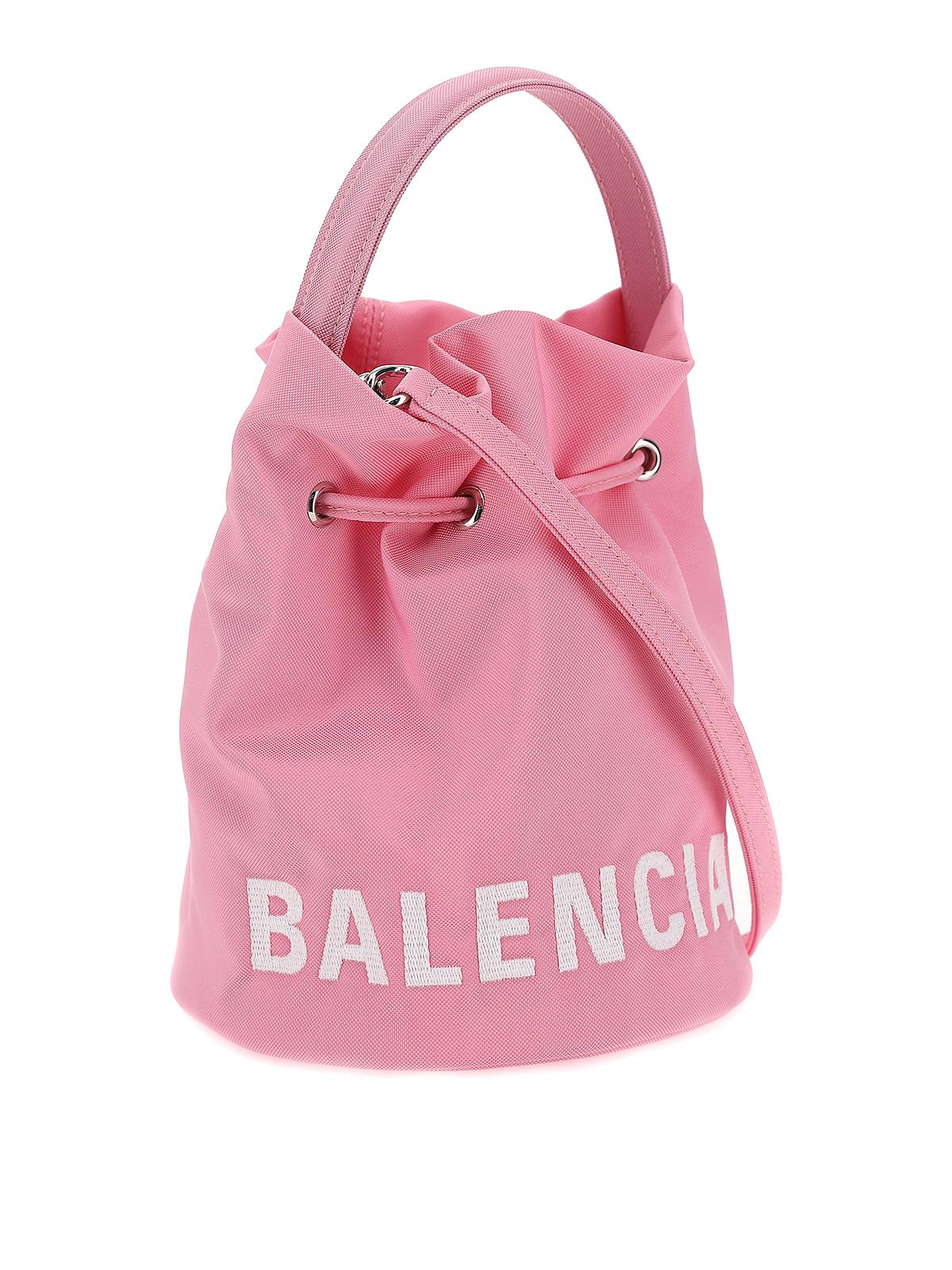 Balenciaga Wheel Xs Bucket Bag Bucket Bags 619458h854n5560